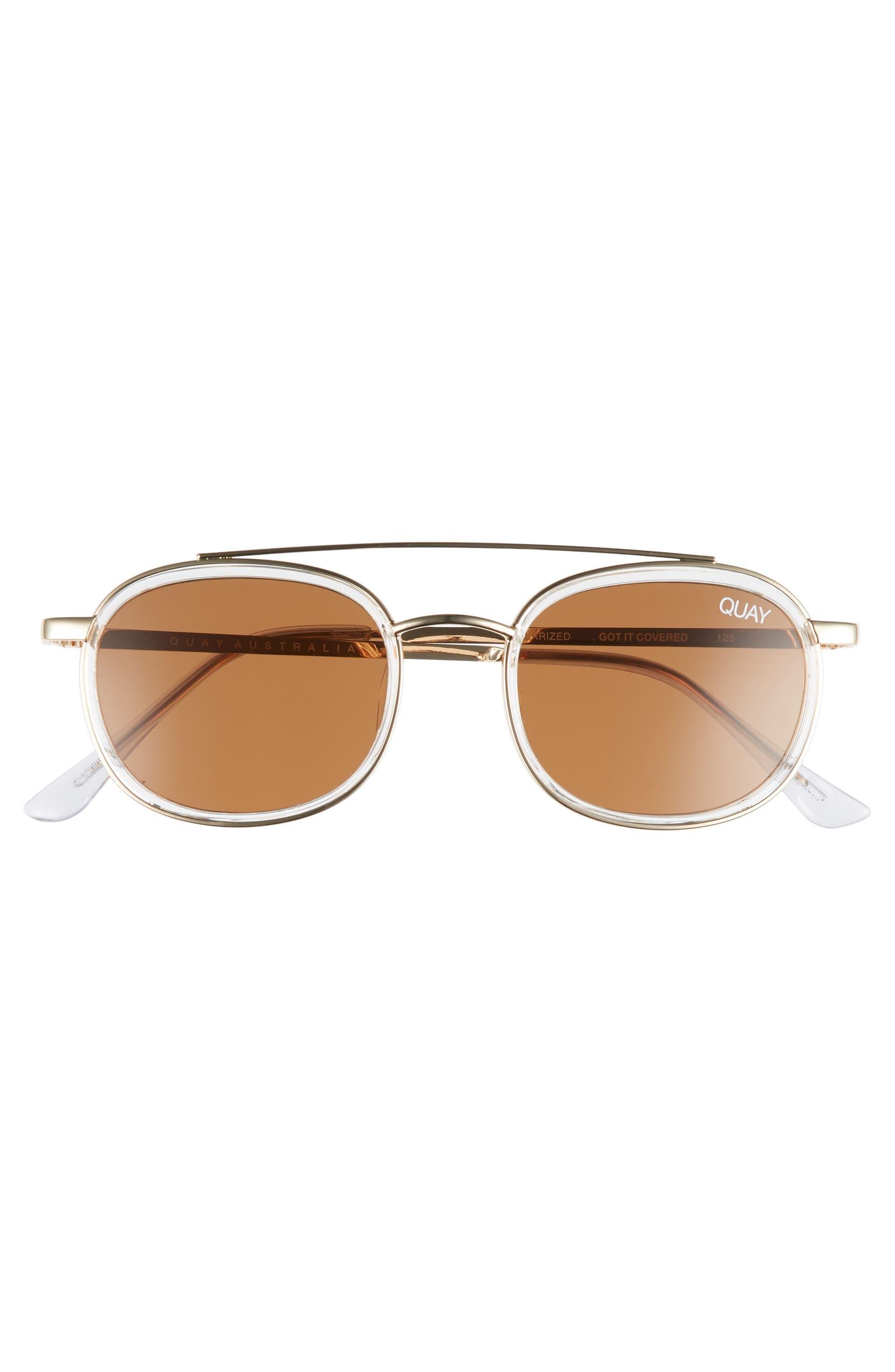 d439afa56afe5 Quay Australia Got It Covered 50mm Polarized Sunglasses