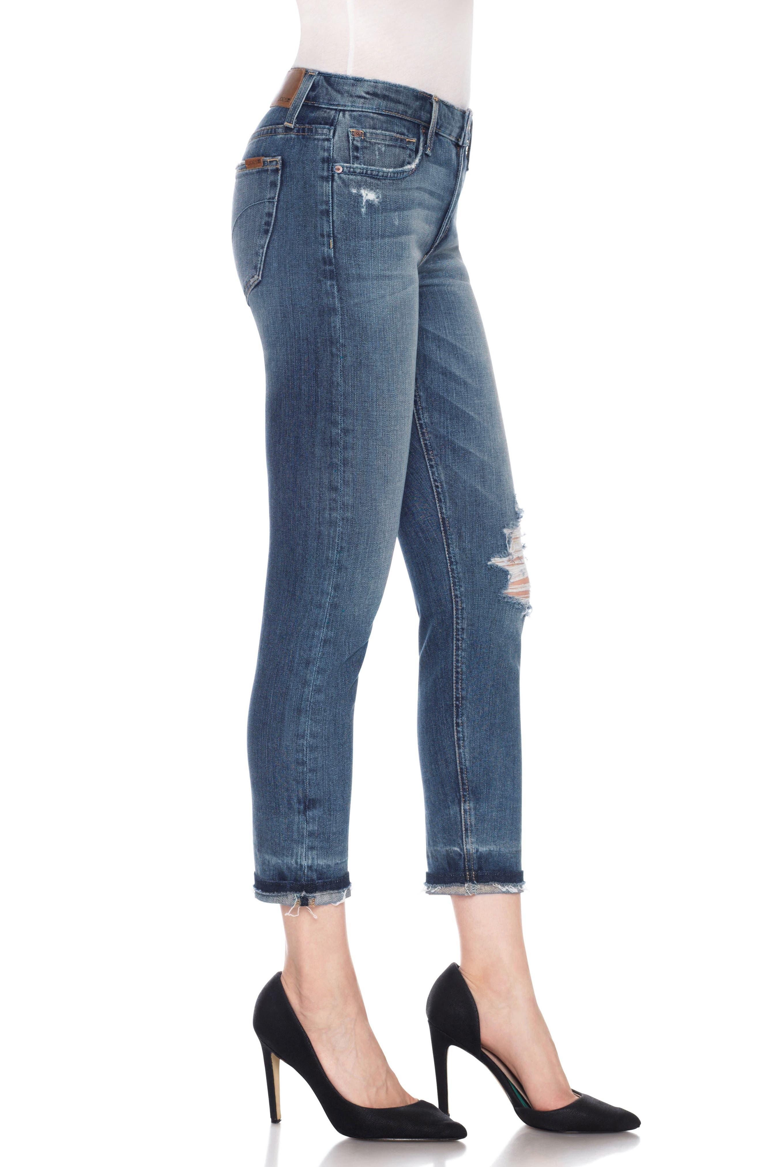 Ex-Lover Crop Boyfriend Jeans,                             Alternate thumbnail 3, color,                             460