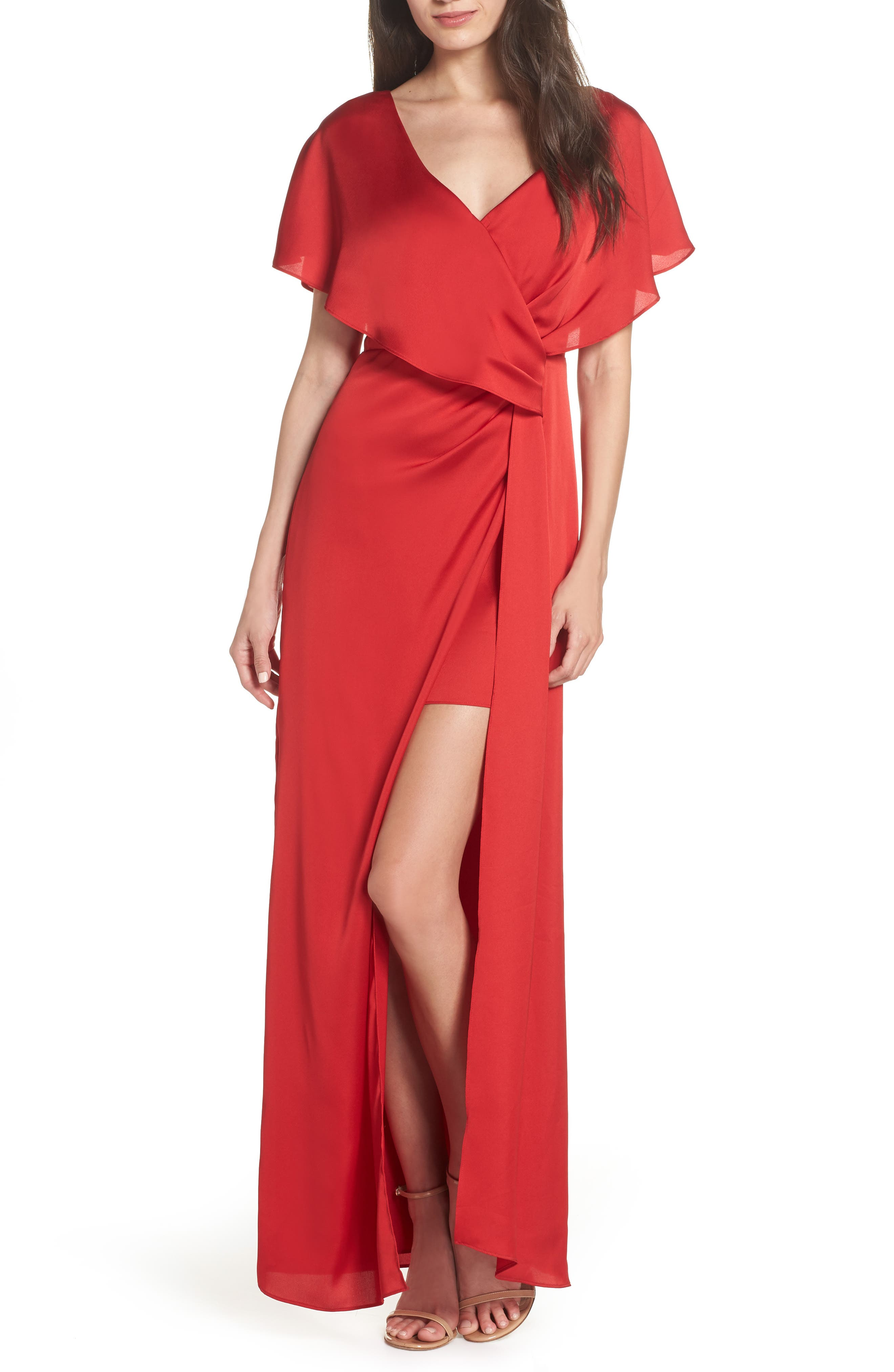 Keepsake The Label Uncovered Gown, Red