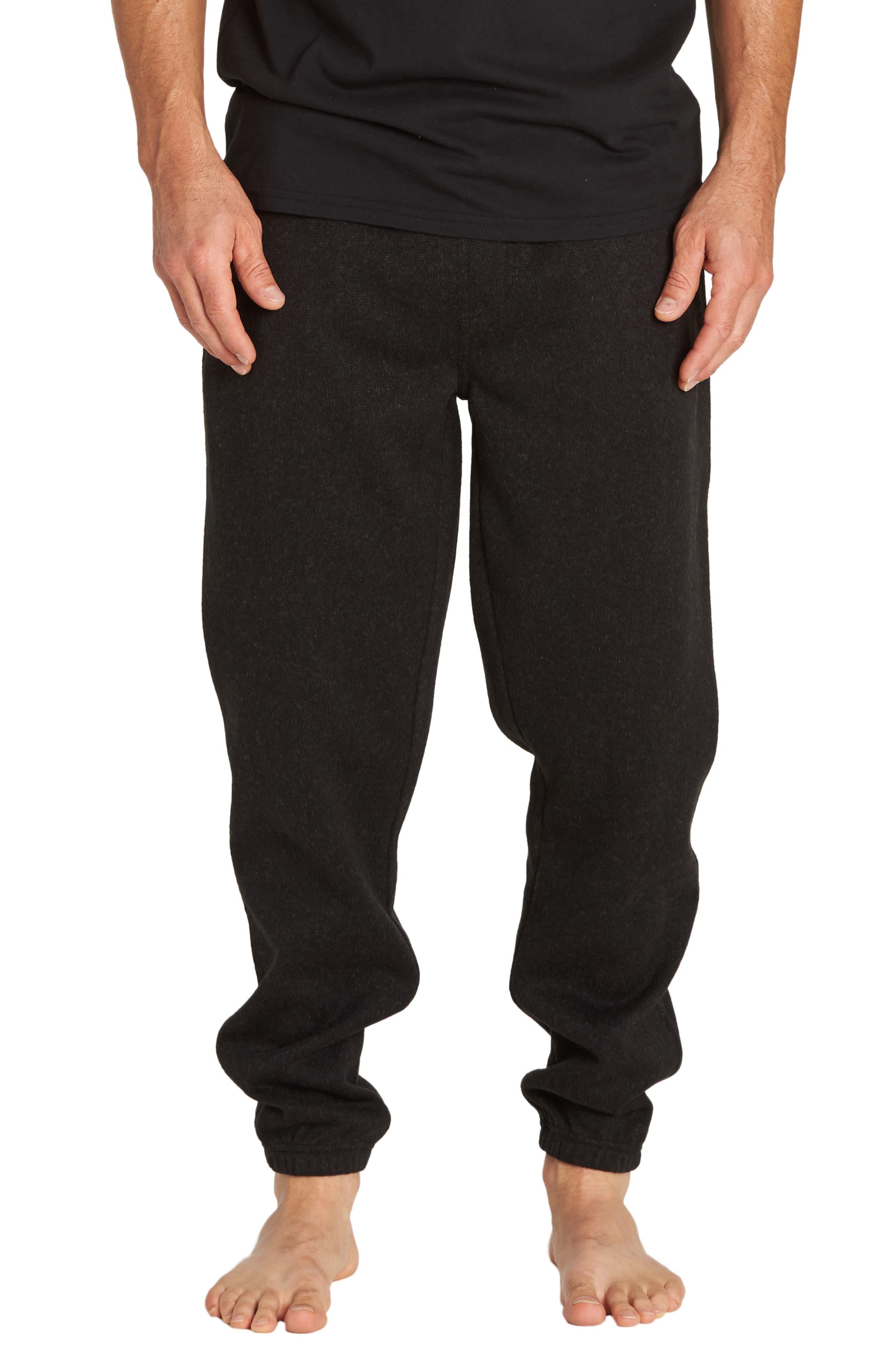 Boundary Sweatpants,                         Main,                         color, BLACK HEATHER