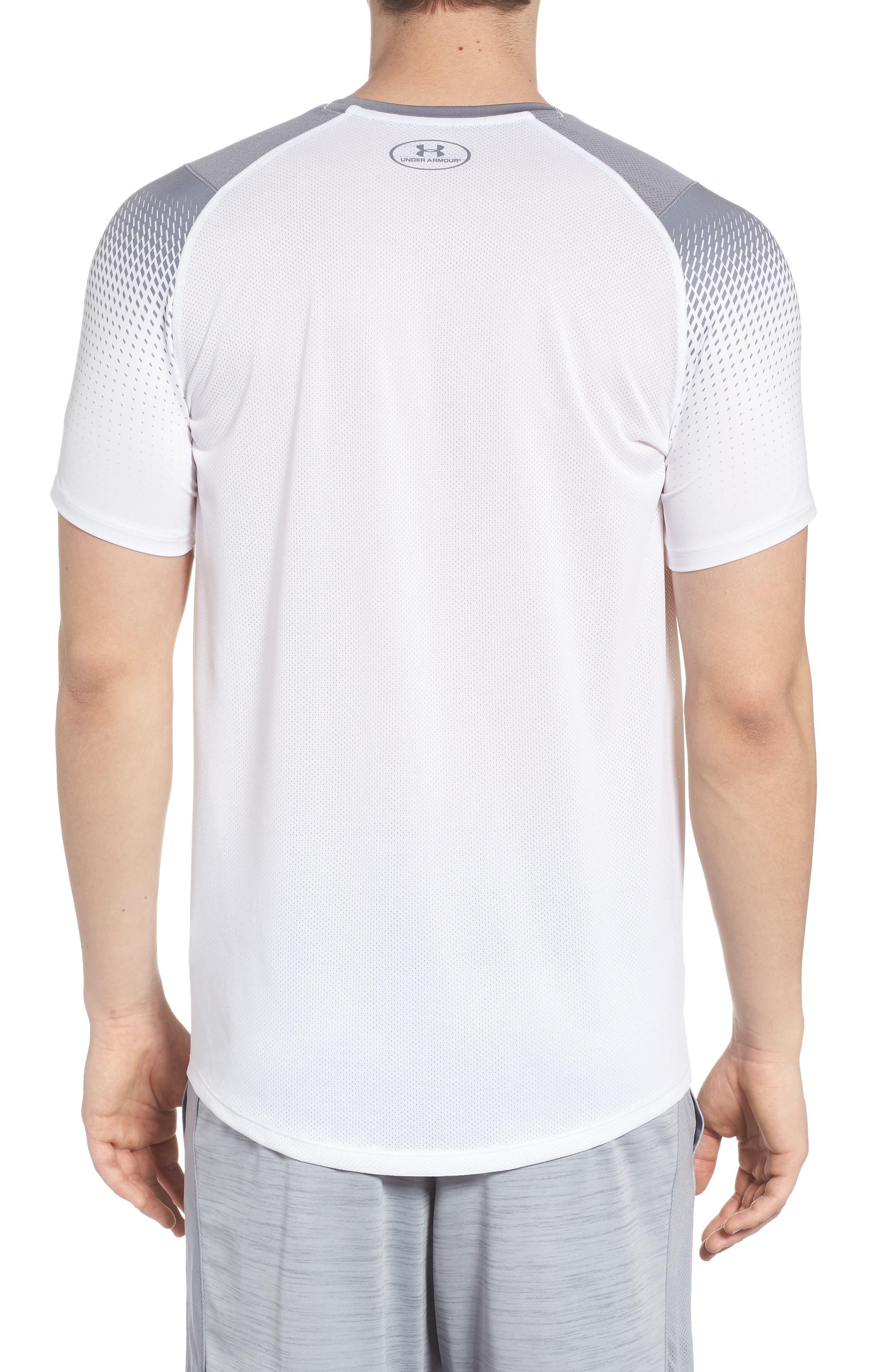 MK1 Dash Print Crewneck T-Shirt,                             Alternate thumbnail 2, color,                             WHITE / ZINC GREH / GRAPHITE