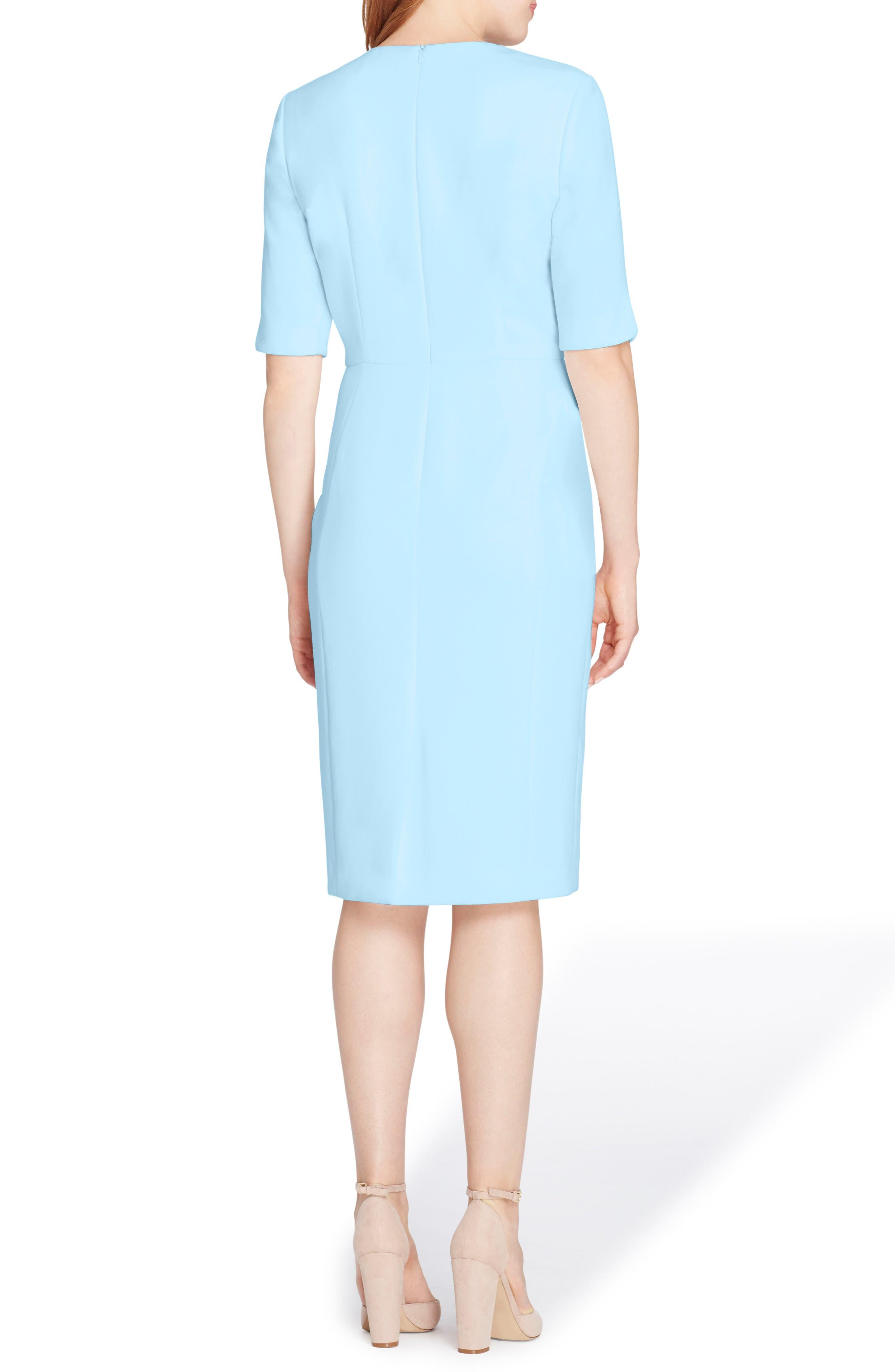 Envelope Neck Sheath Dress,                             Alternate thumbnail 2, color,                             499