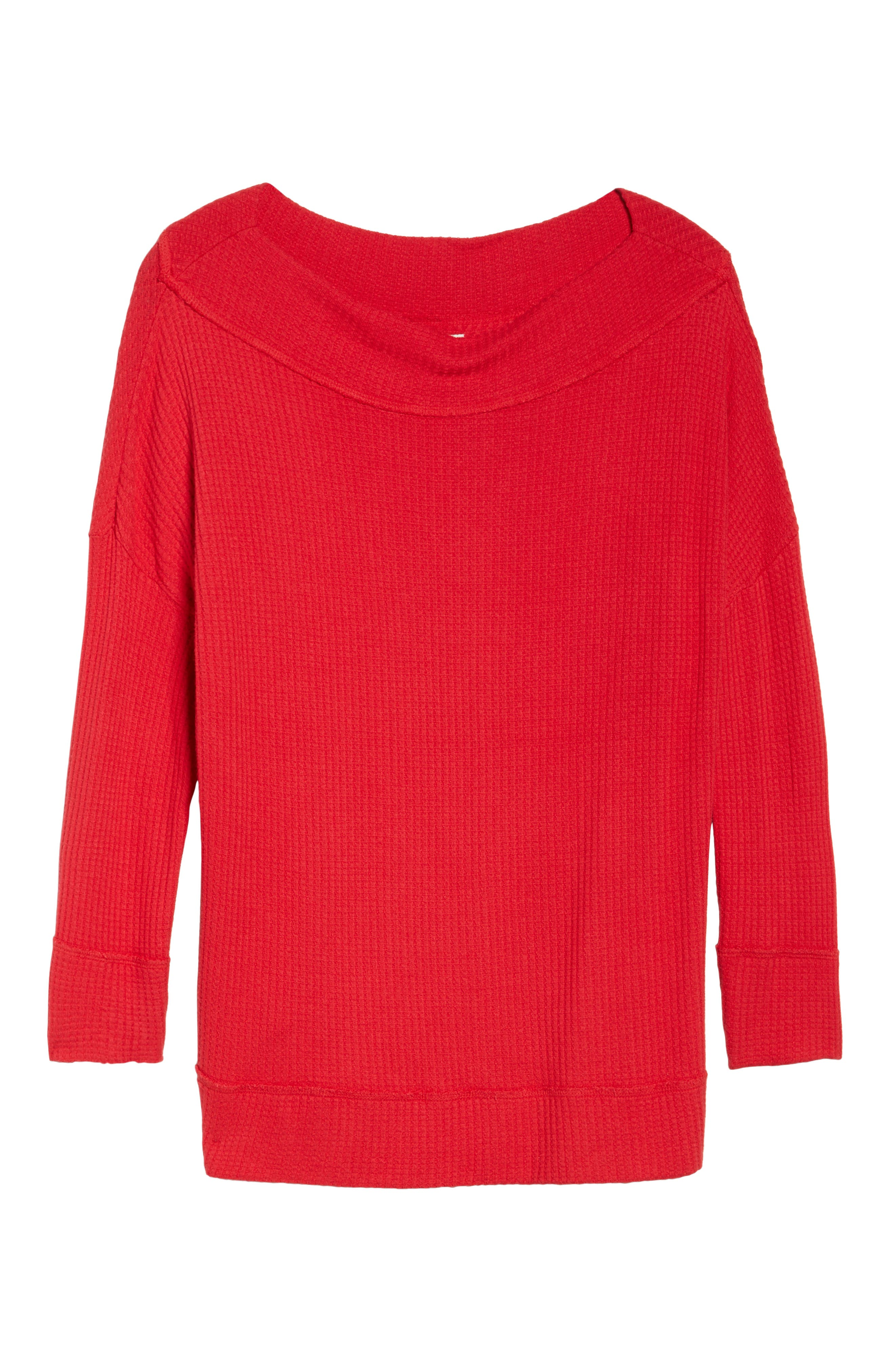 Waffle Thermal Top,                             Alternate thumbnail 12, color,