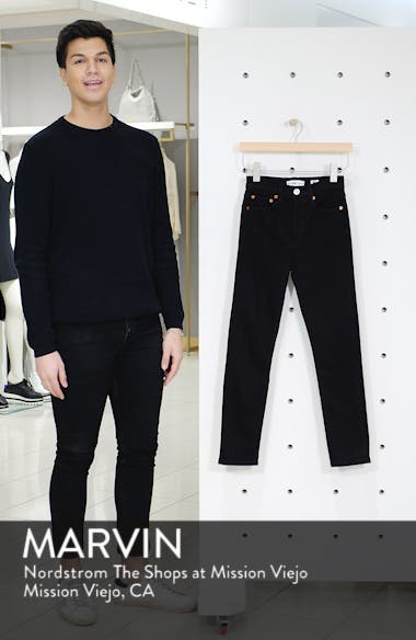 Originals High Waist Ankle Crop Jeans, sales video thumbnail