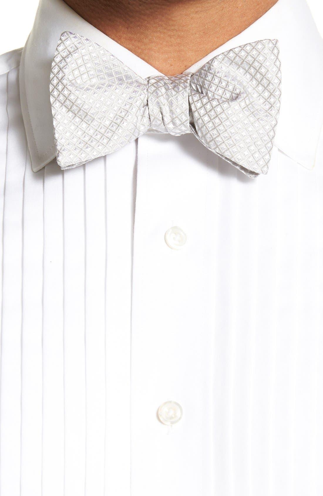'Protocol' Silk Cummerbund & Bow Tie Set,                             Alternate thumbnail 5, color,