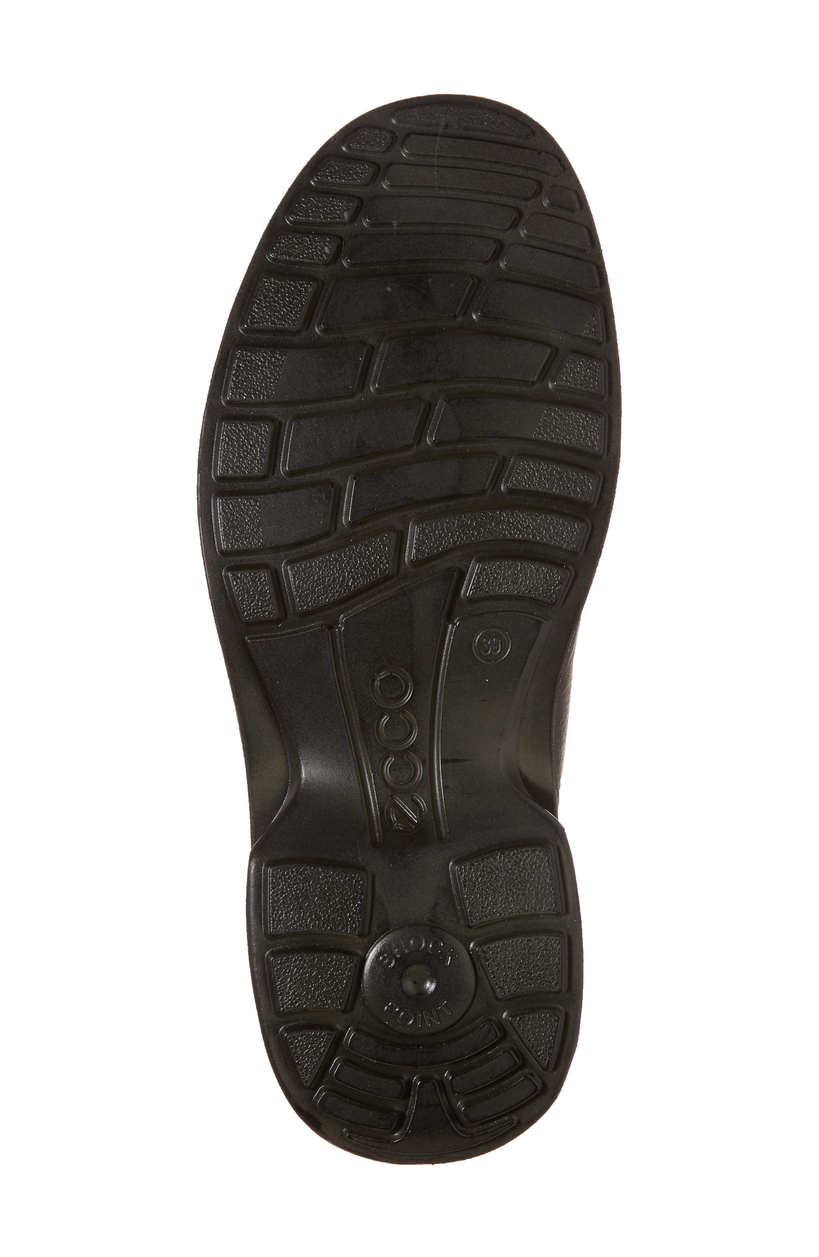 Turn Gore-Tex<sup>®</sup> Waterproof Chukka Boot,                             Alternate thumbnail 6, color,                             BLACK NUBUCK
