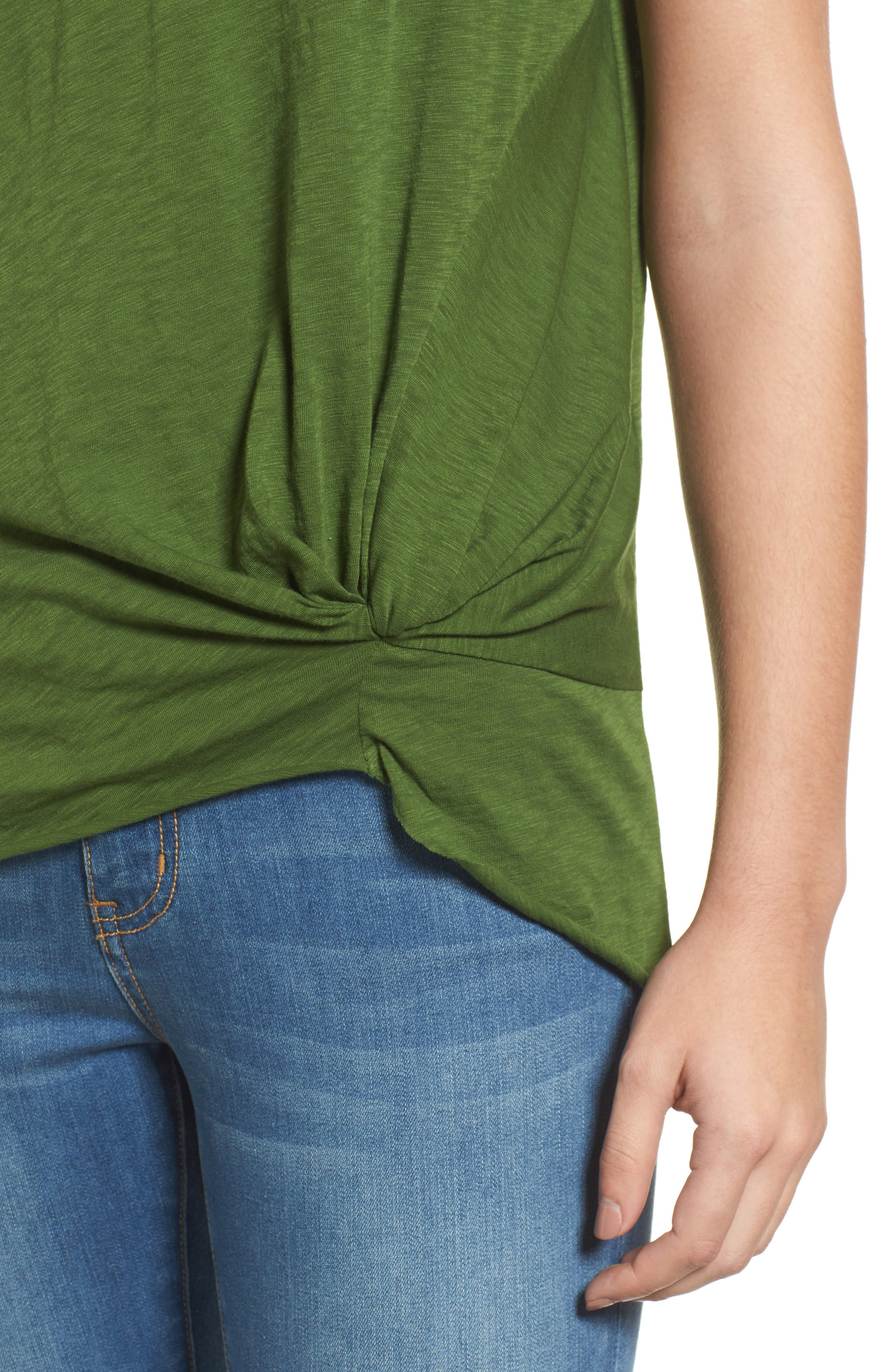 Knotted Tee,                             Alternate thumbnail 41, color,