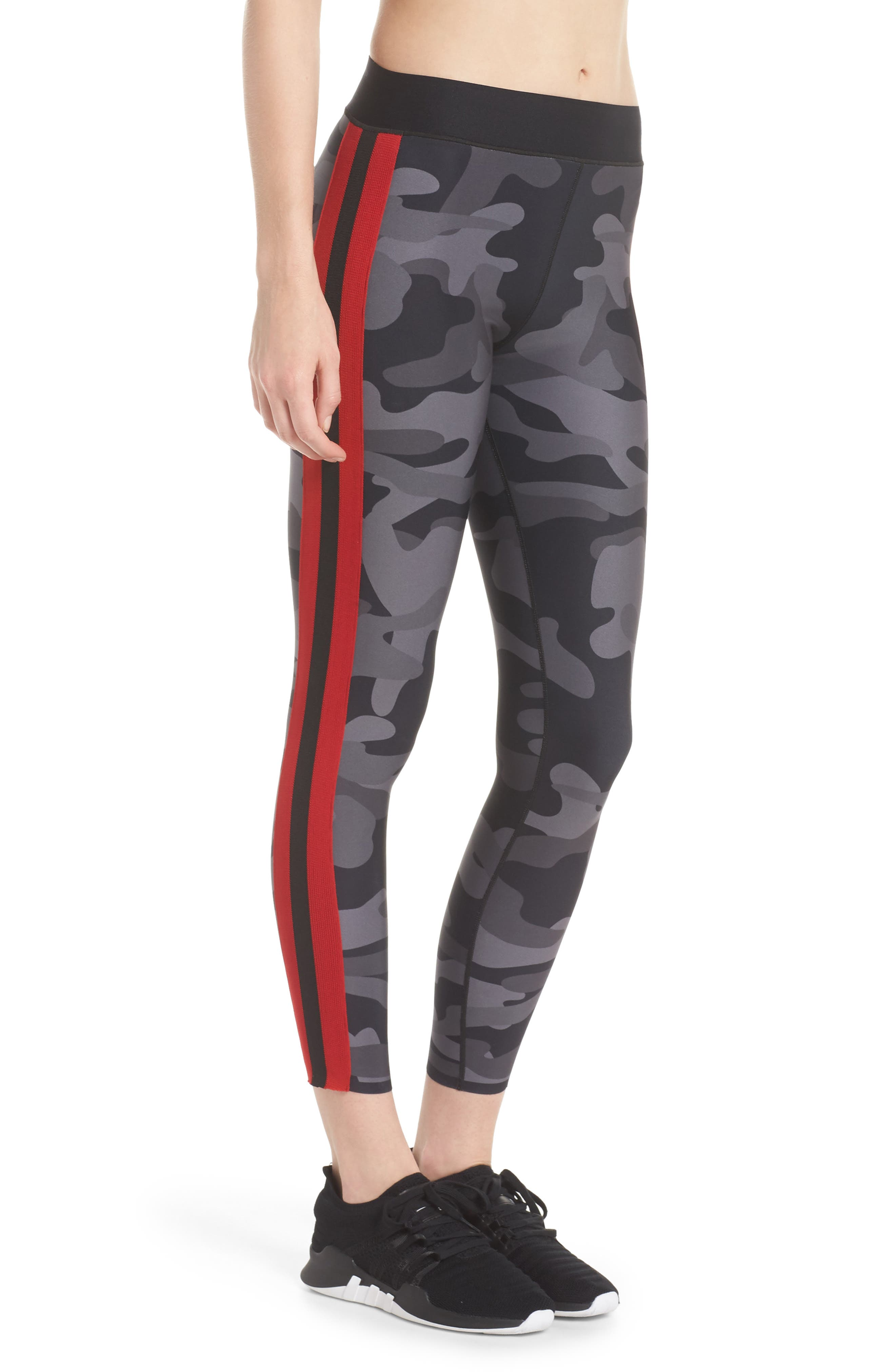 Ultra Camo Collegiate Leggings,                             Alternate thumbnail 3, color,                             005