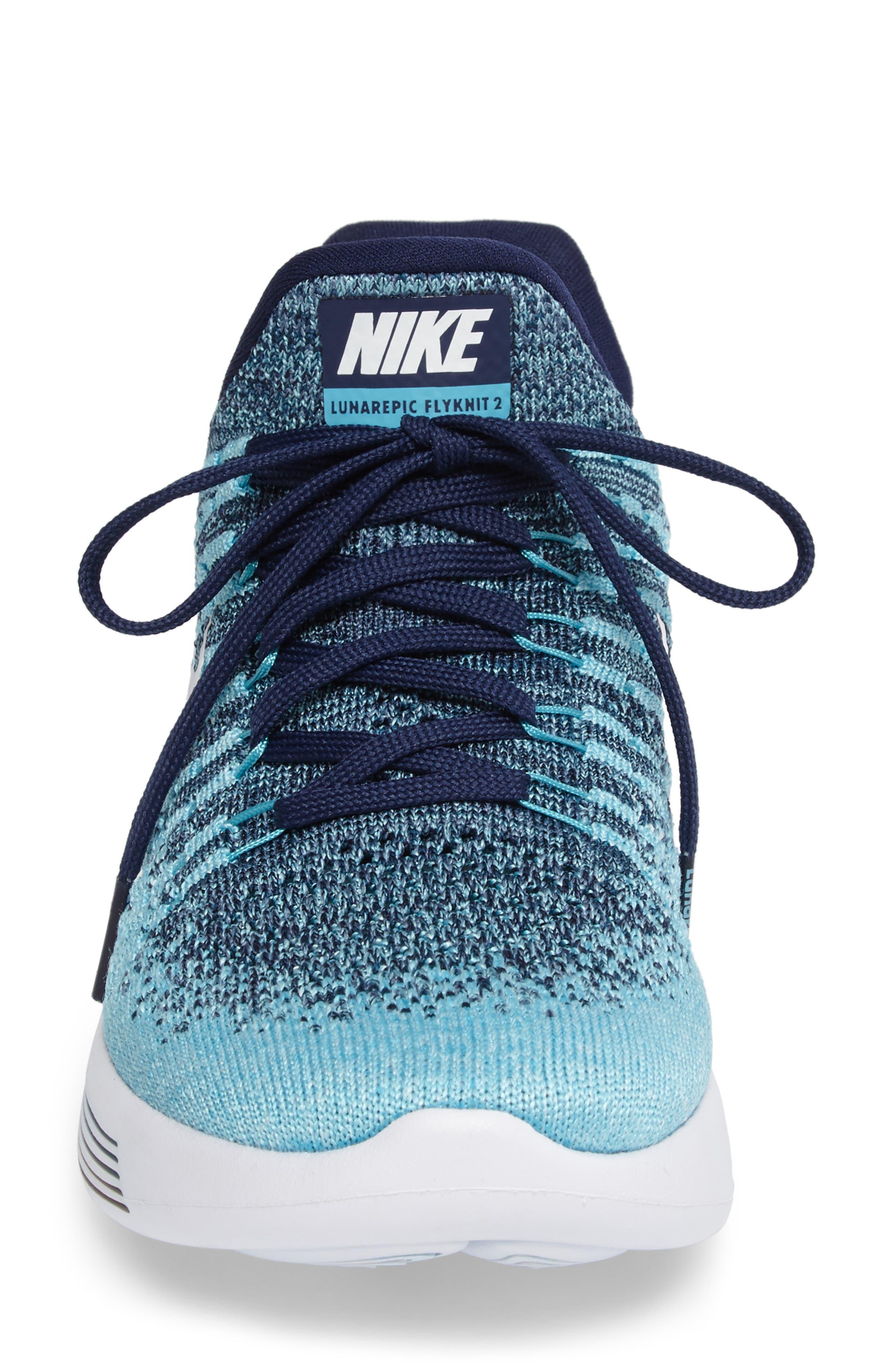 LunarEpic Low Flyknit 2 Running Shoe,                             Alternate thumbnail 68, color,