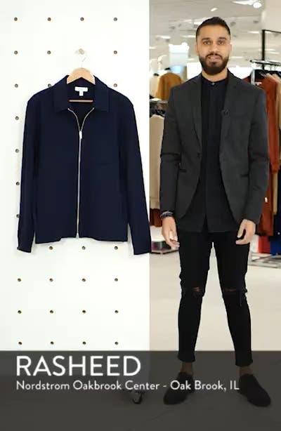 Zip Front Shirt Jacket, sales video thumbnail