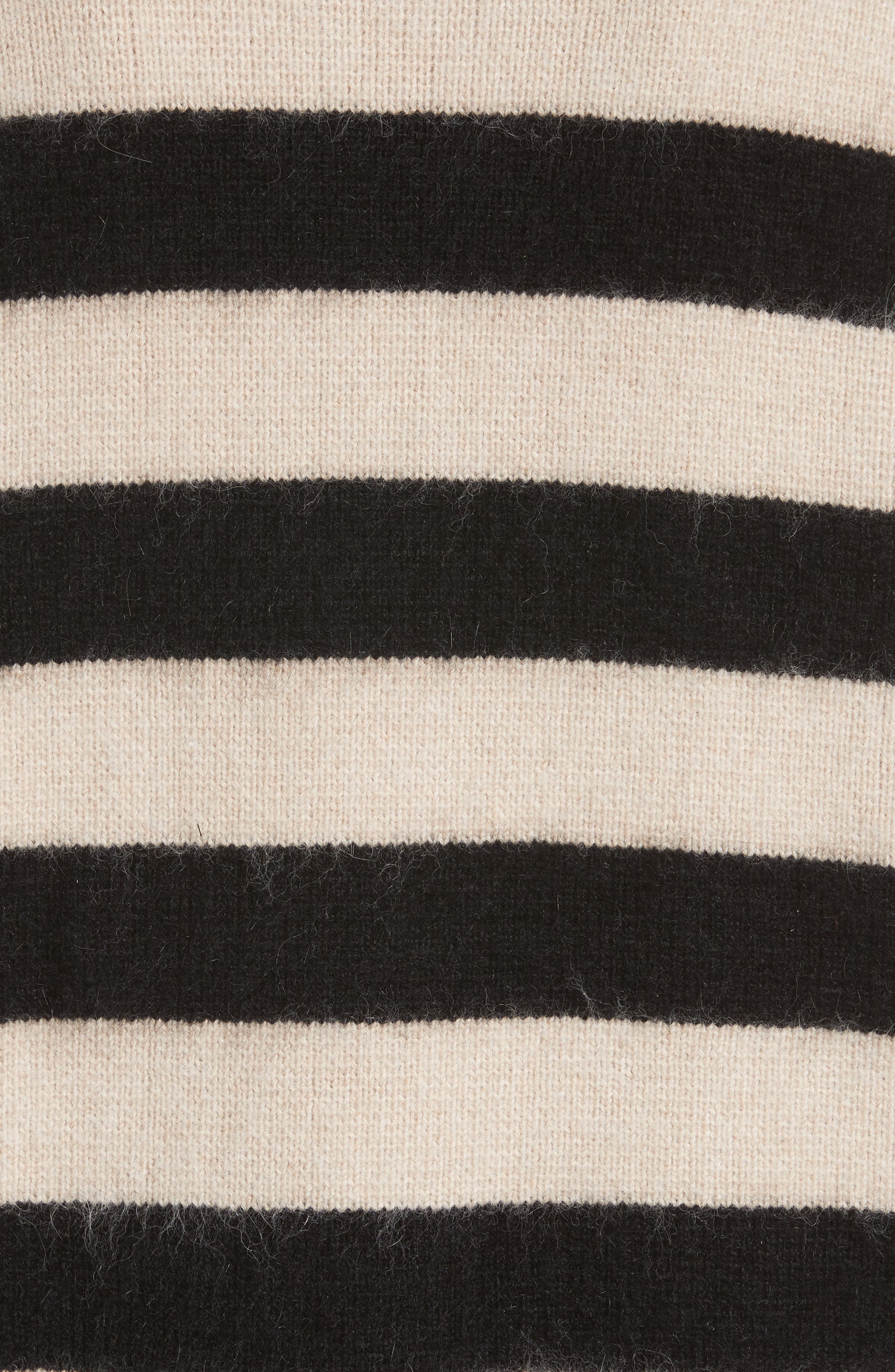 Stripe Oversize Cardigan,                             Alternate thumbnail 5, color,                             001
