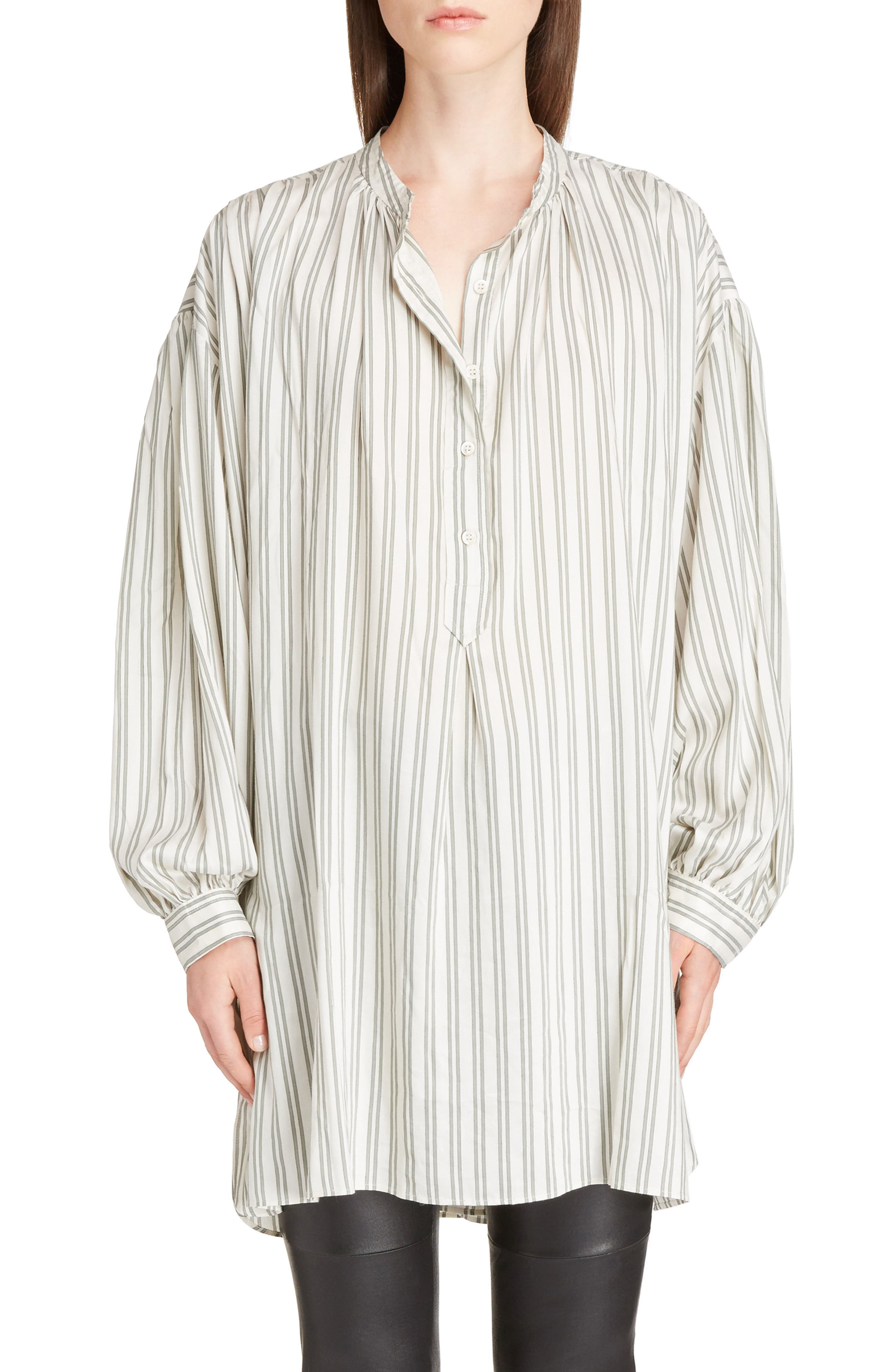 Idoa Stripe Tunic,                             Main thumbnail 1, color,                             100