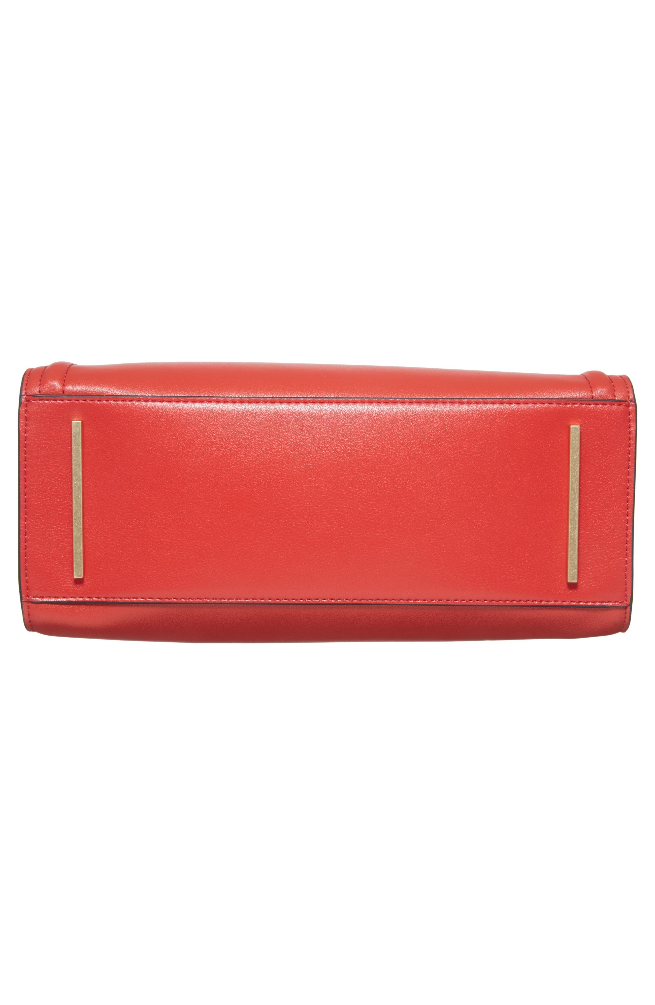 Céline Dion Octave Leather Satchel,                             Alternate thumbnail 6, color,                             600
