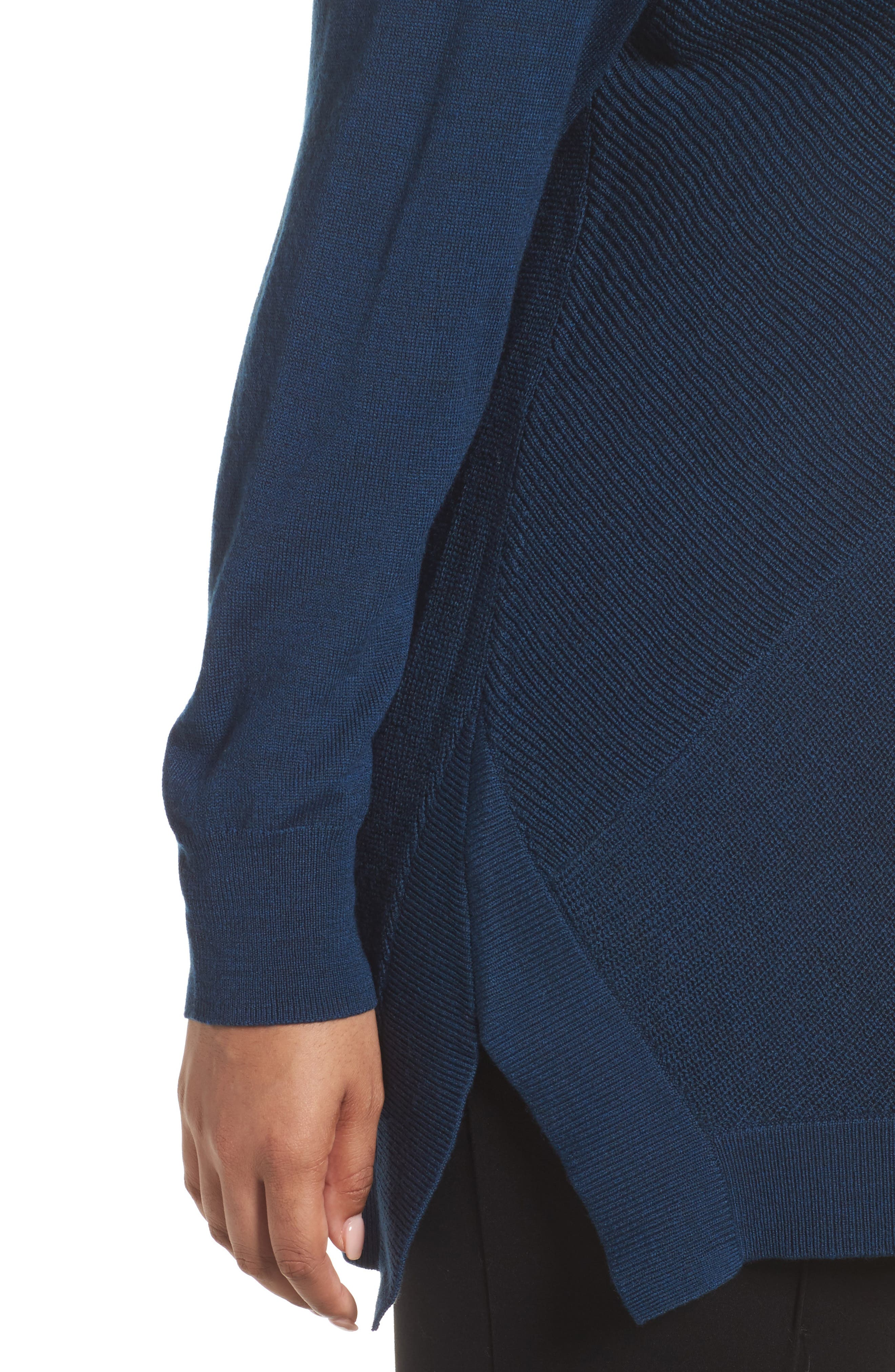 Cowl Neck Ribbed Trim Pullover,                             Alternate thumbnail 23, color,