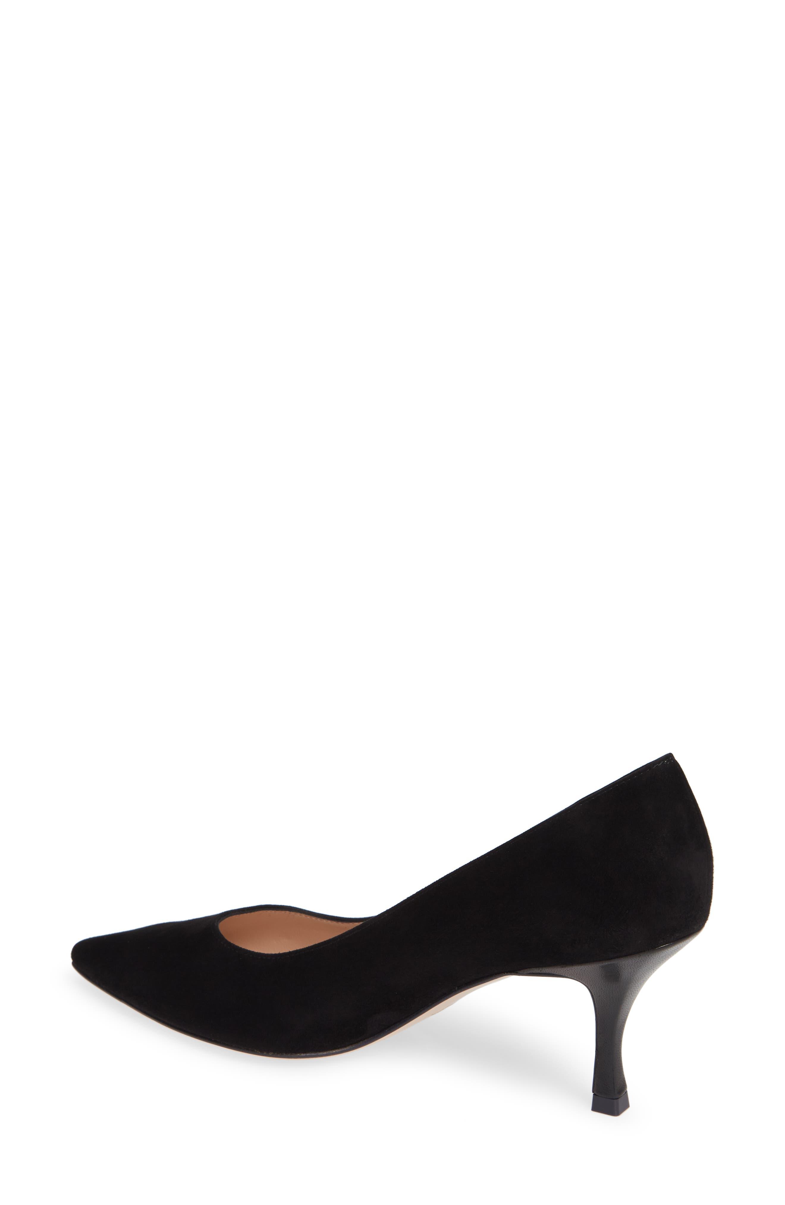 Tippi 70 Pointy Toe Pump,                             Alternate thumbnail 2, color,                             PITCH BLACK