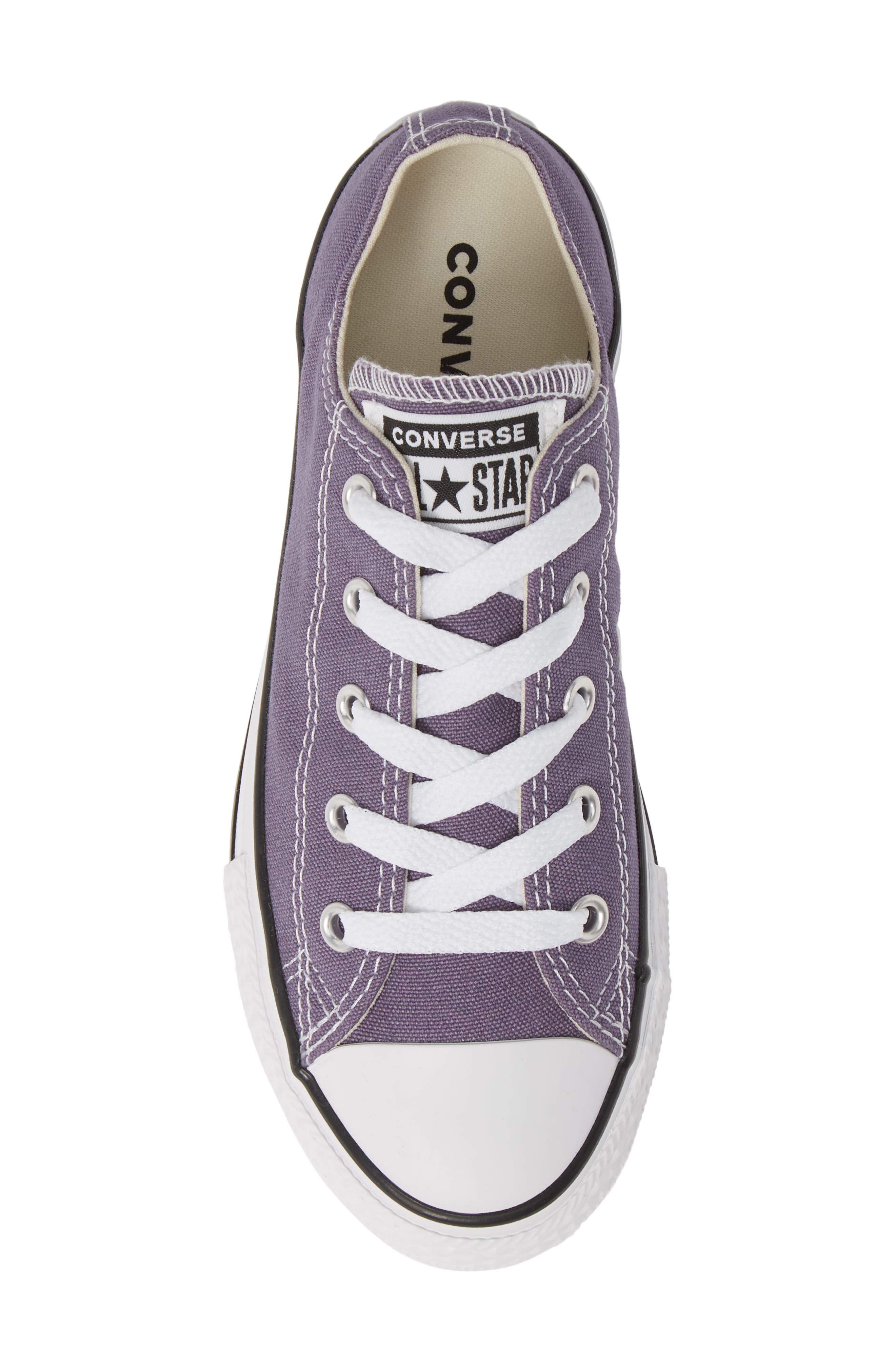 CONVERSE,                             Chuck Taylor<sup>®</sup> Sneaker,                             Alternate thumbnail 5, color,                             MOODY PURPLE/ NATURAL IVORY