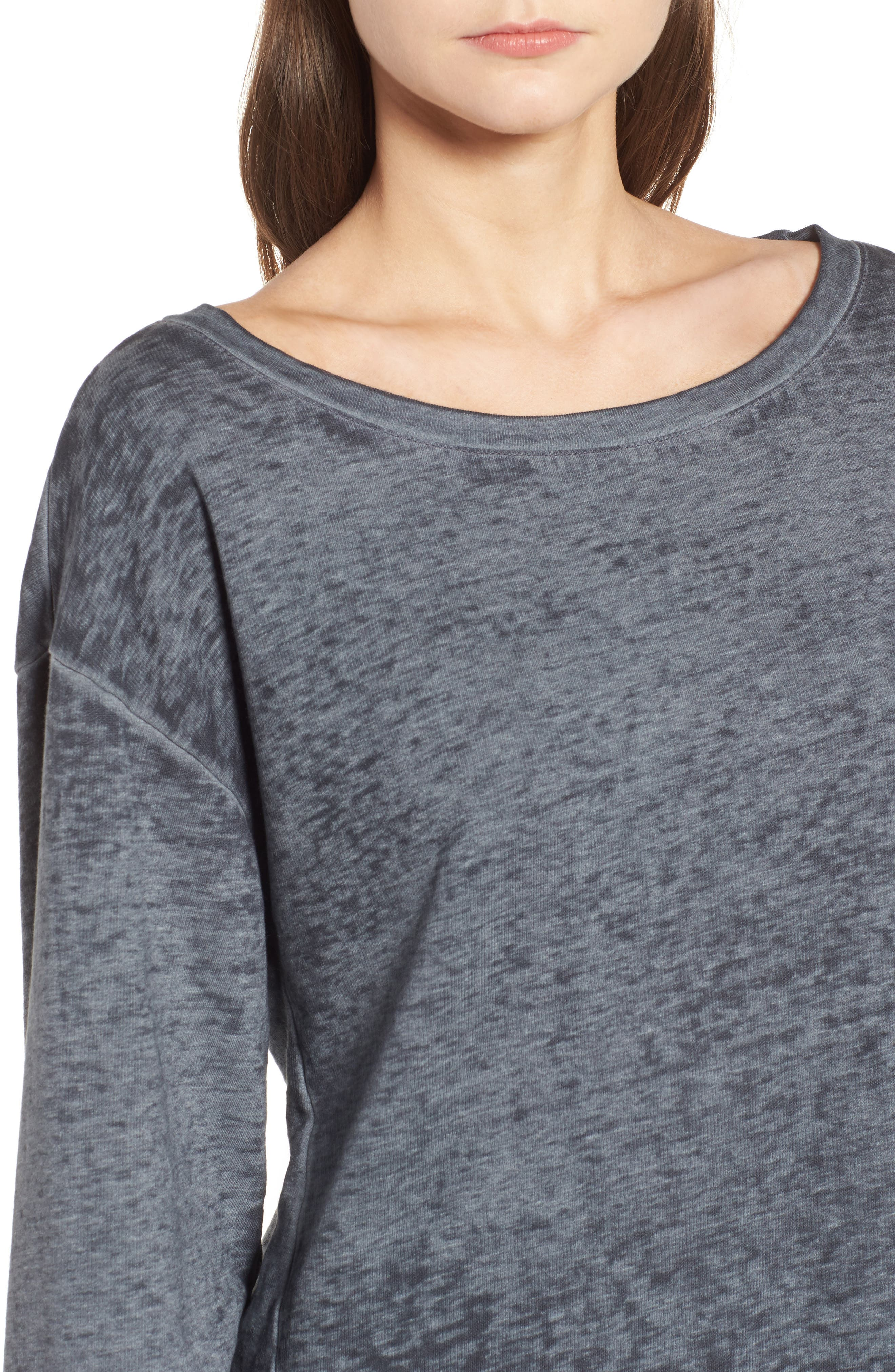 Bell Sleeve Sweatshirt,                             Alternate thumbnail 4, color,                             020