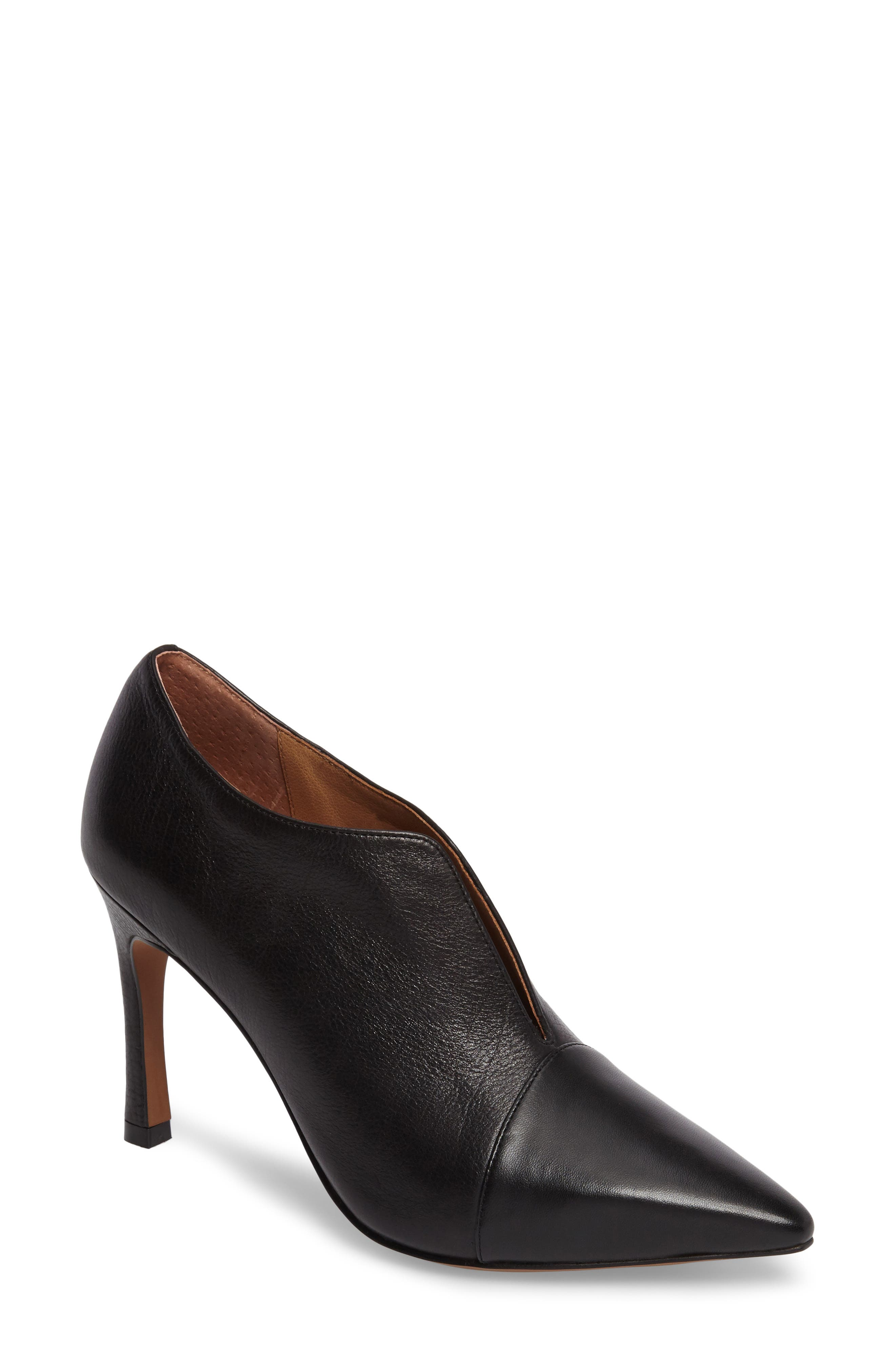 Pointy Toe Bootie,                             Main thumbnail 1, color,                             009