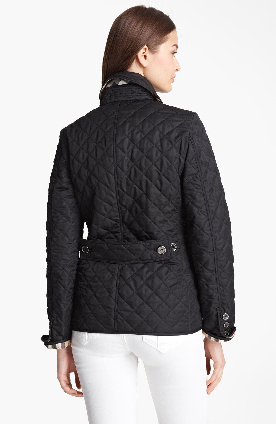 'Copford' Quilted Jacket,                             Alternate thumbnail 2, color,                             001