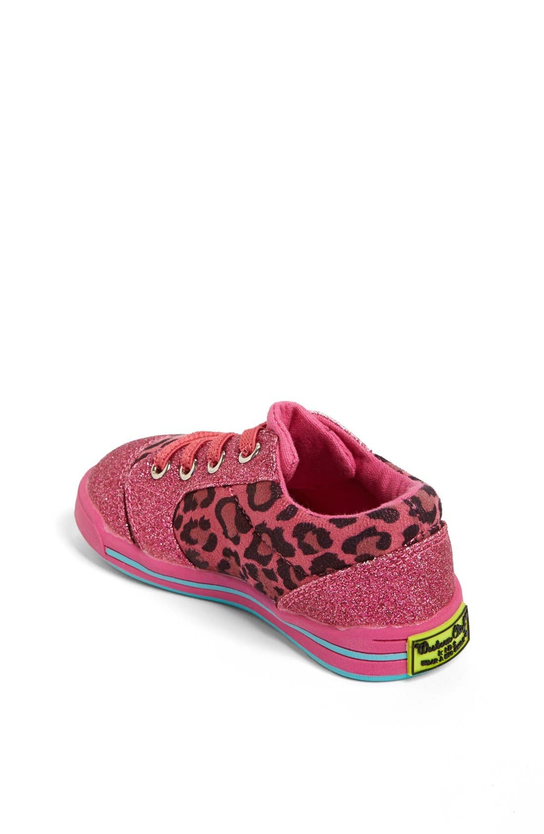'Flashy Leopard' Sneaker,                             Alternate thumbnail 3, color,                             650