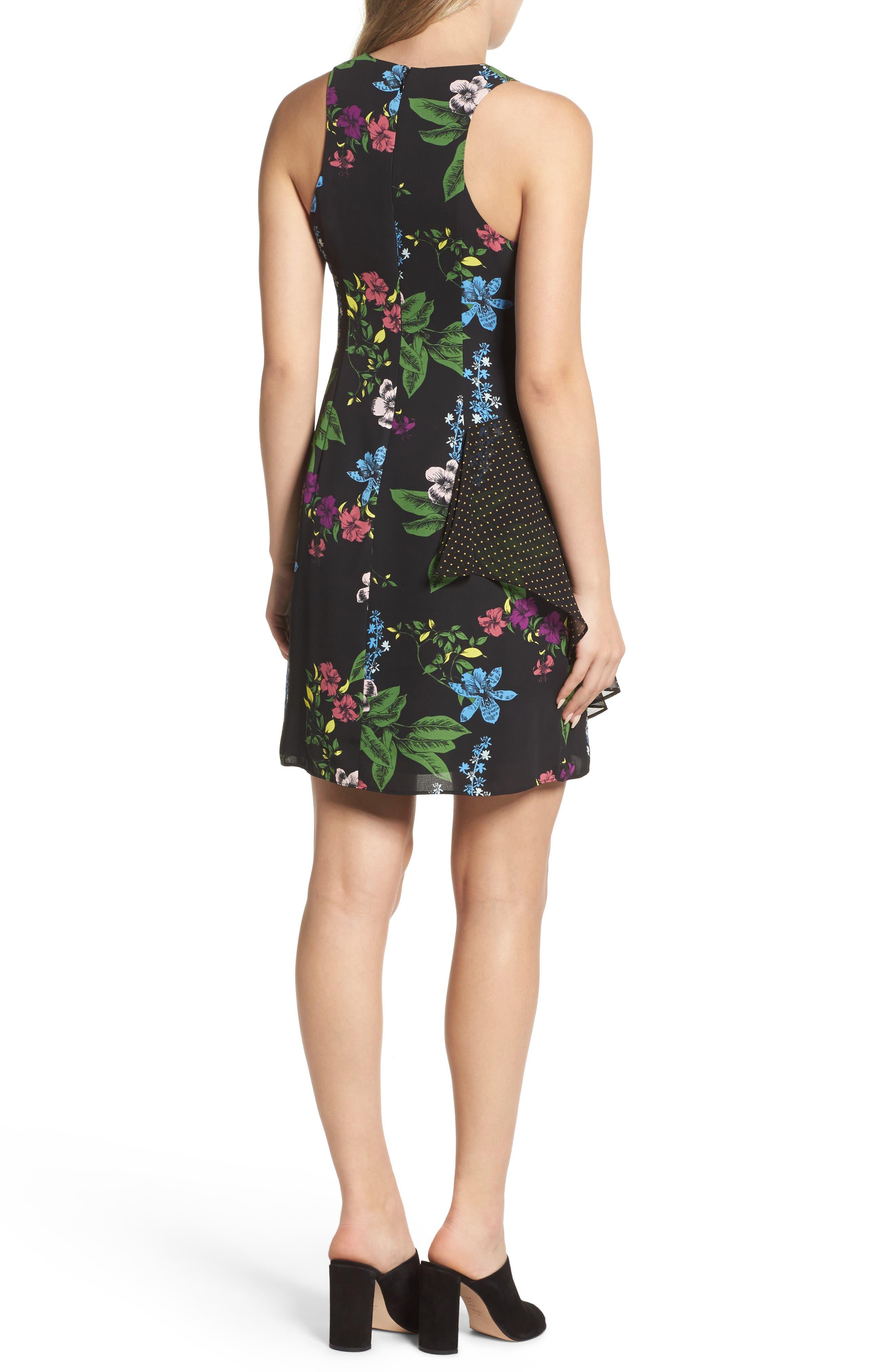 Side Drape Sheath Dress,                             Alternate thumbnail 2, color,