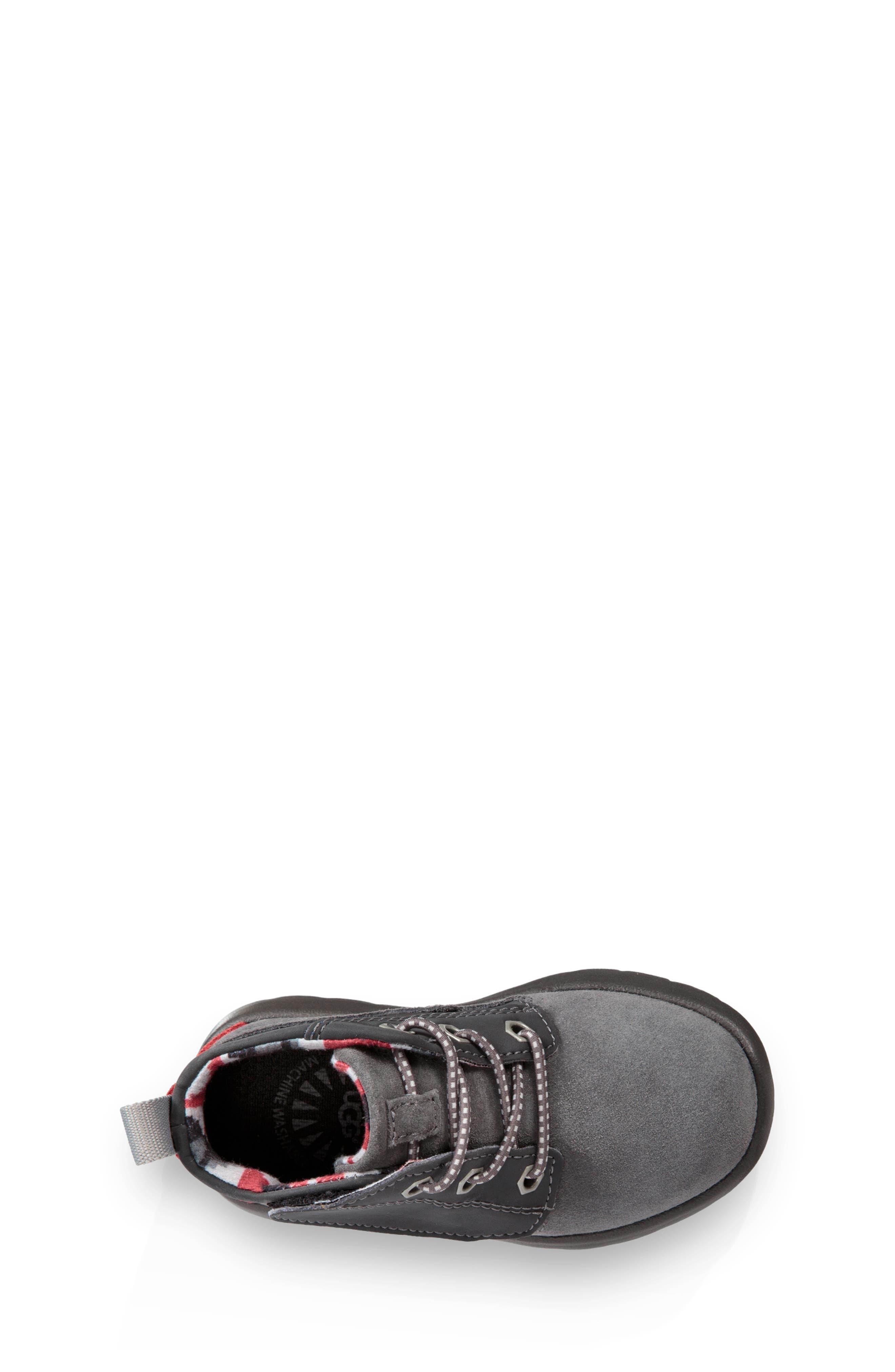 Canoe Chukka Sneaker,                             Alternate thumbnail 4, color,                             GREY / BLACK