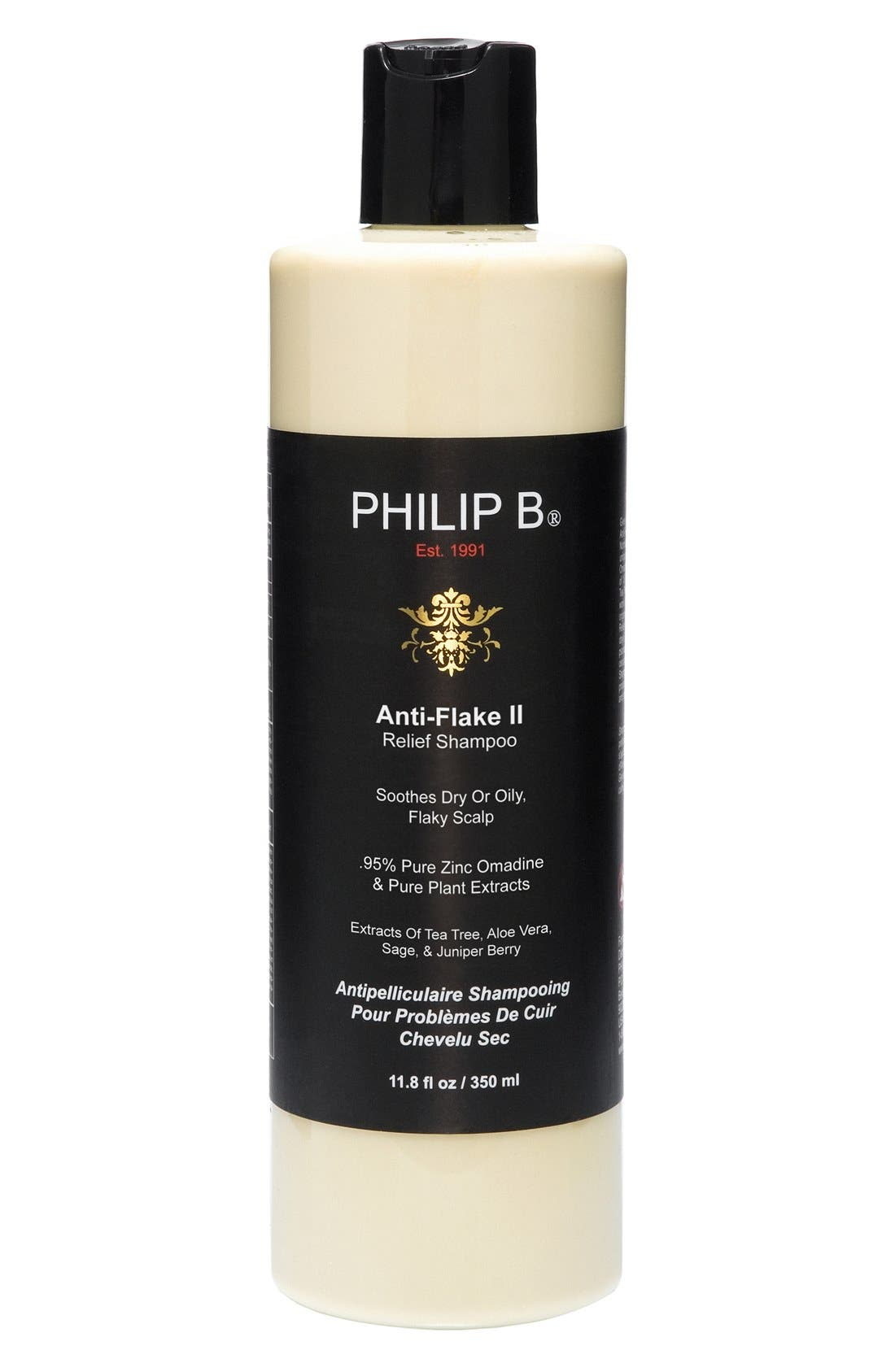SPACE.NK.apothecary PHILLIP B<sup>®</sup> Anti-Flake Relief II Shampoo,                             Alternate thumbnail 3, color,                             NO COLOR
