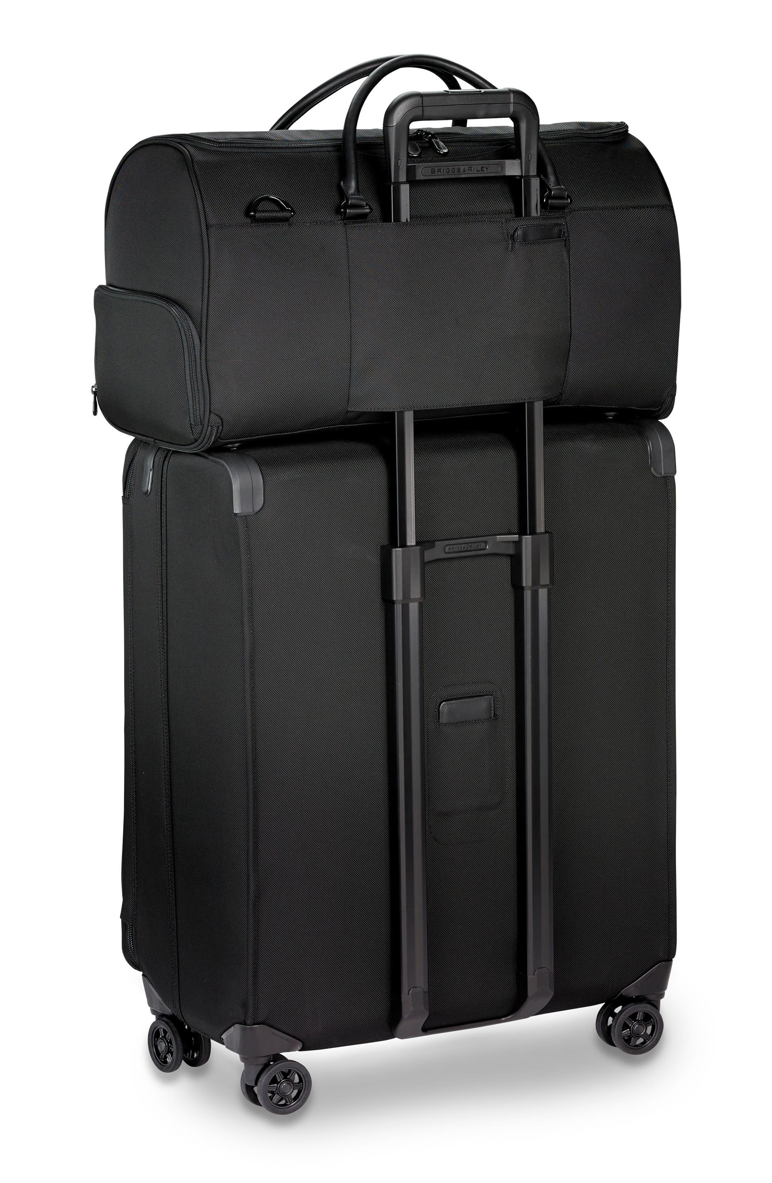 BRIGGS & RILEY,                             Baseline Suiter Duffel Bag,                             Alternate thumbnail 9, color,                             BLACK