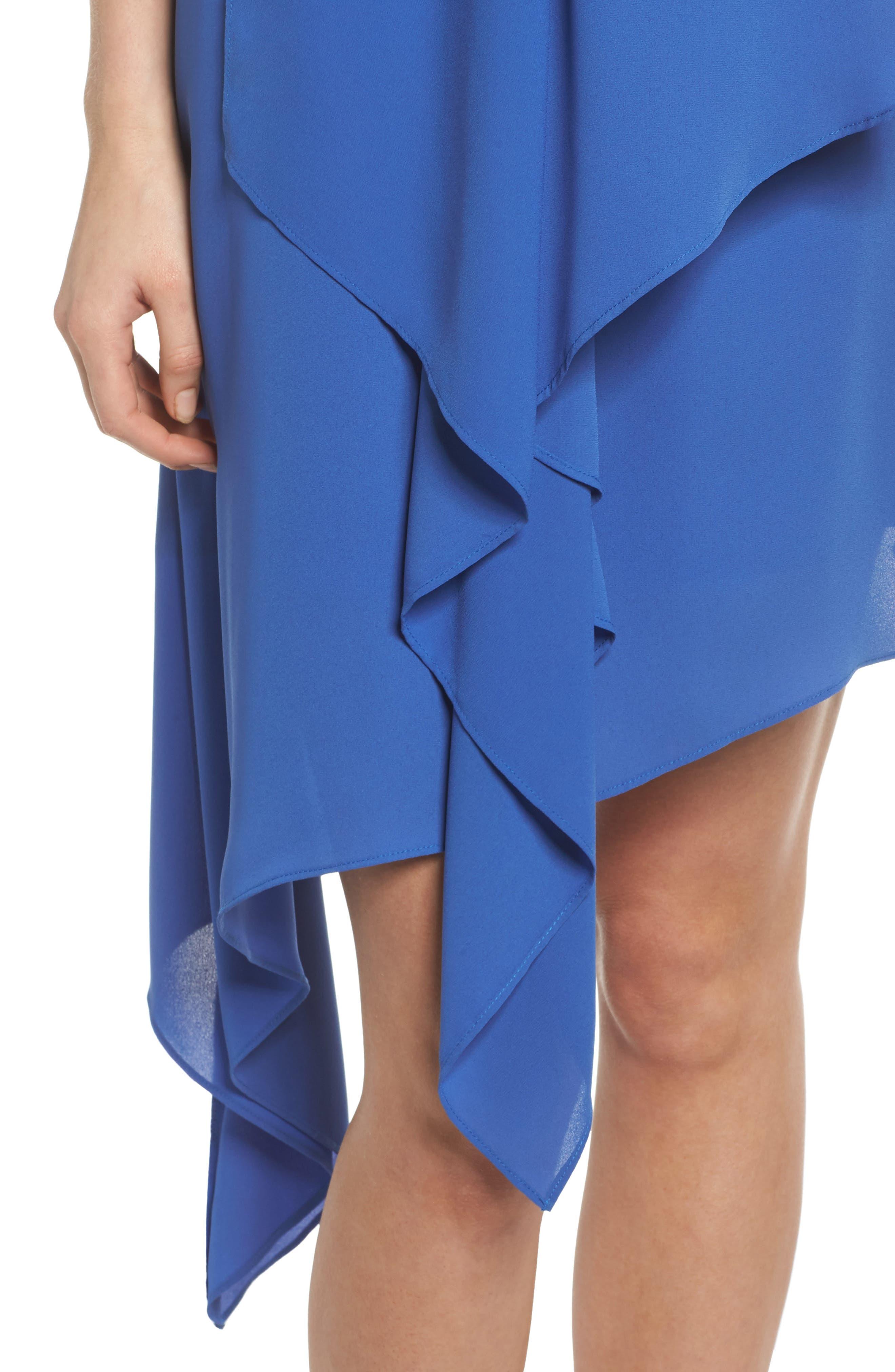 Asymmetric Hem Shift Dress,                             Alternate thumbnail 10, color,