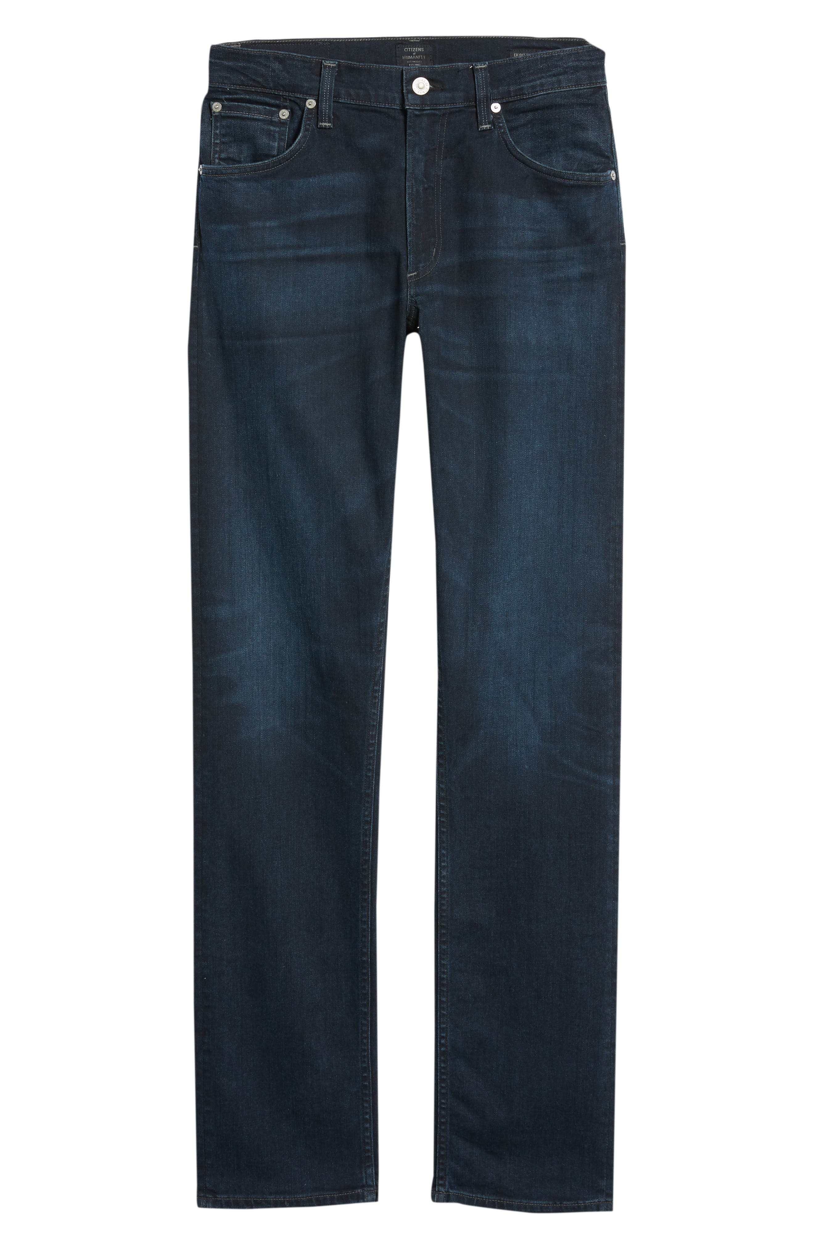 Bowery Slim Fit Jeans,                             Alternate thumbnail 6, color,                             407