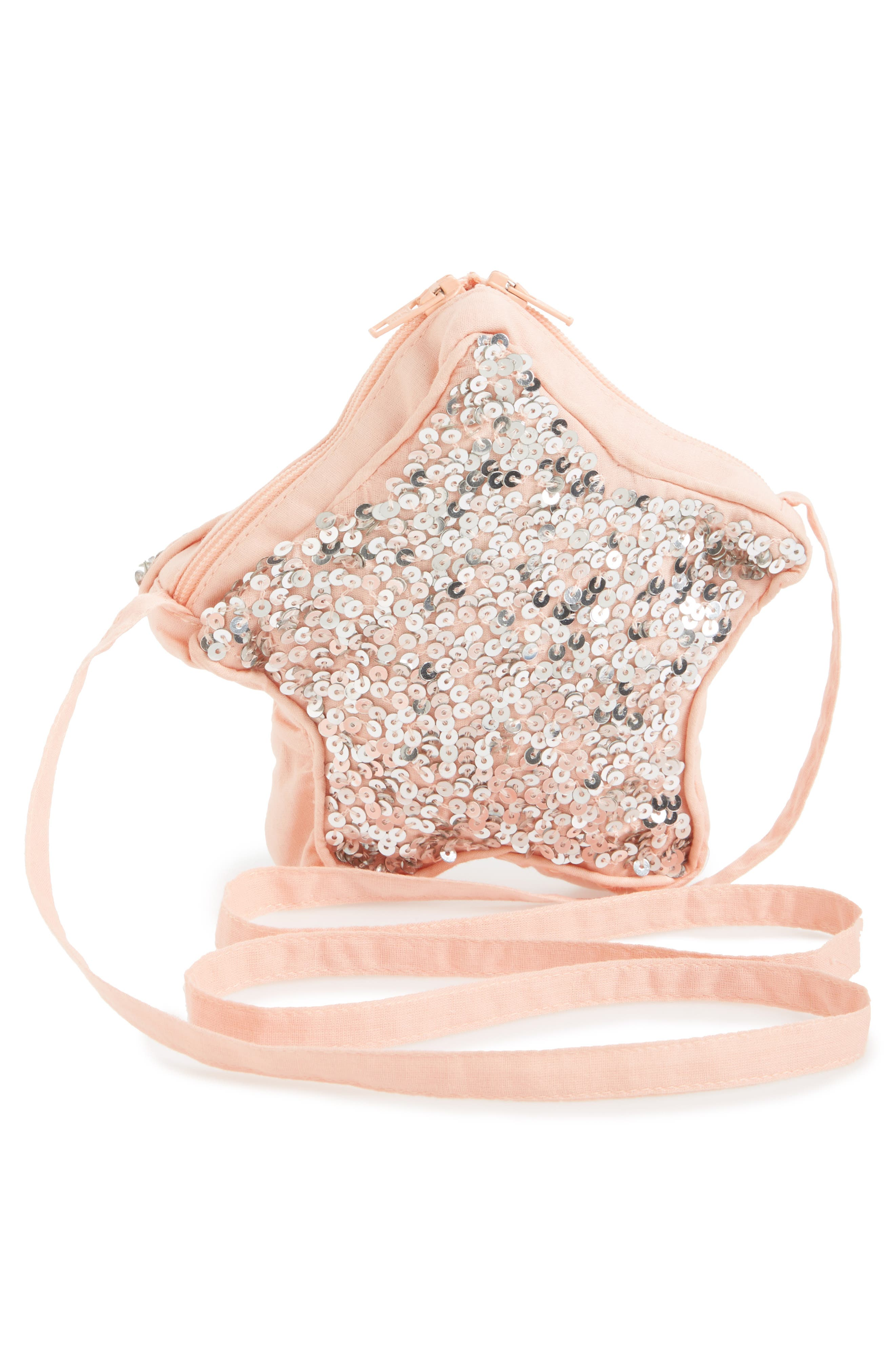 Wild and Gorgeous Sequin Star Bag,                             Alternate thumbnail 4, color,