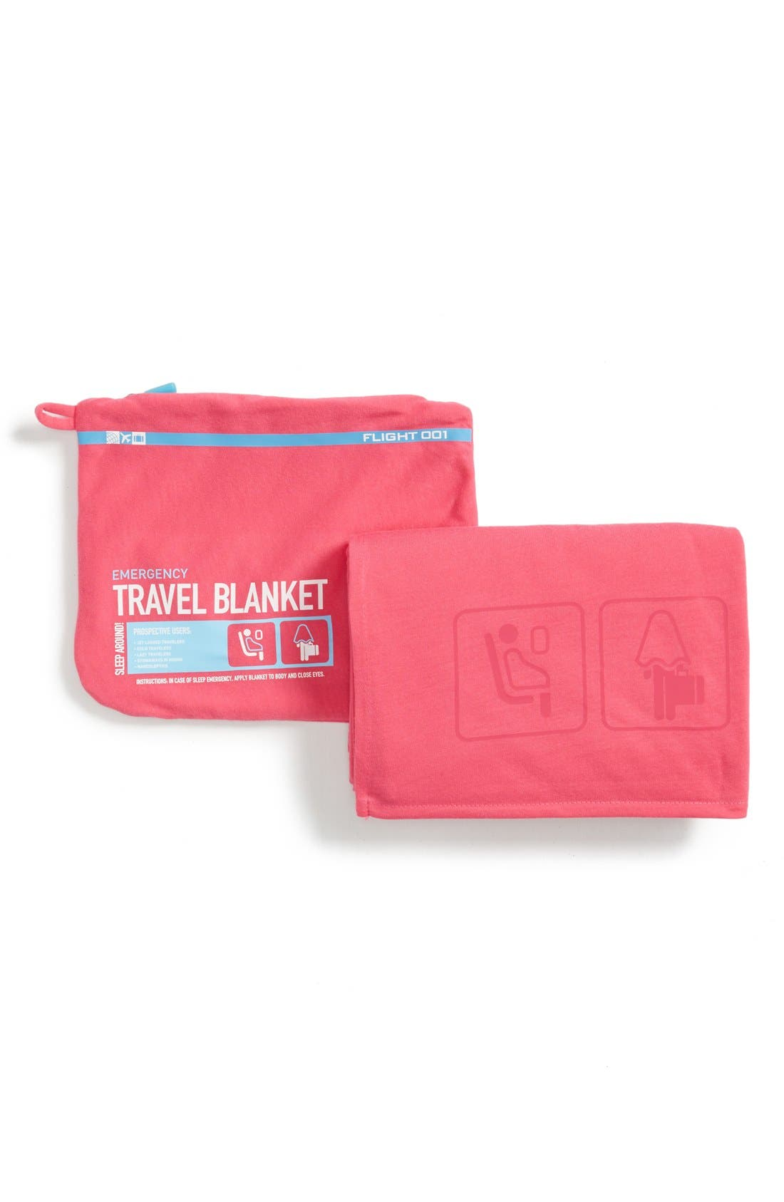 FLIGHT 001,                             Travel Blanket,                             Alternate thumbnail 2, color,                             650