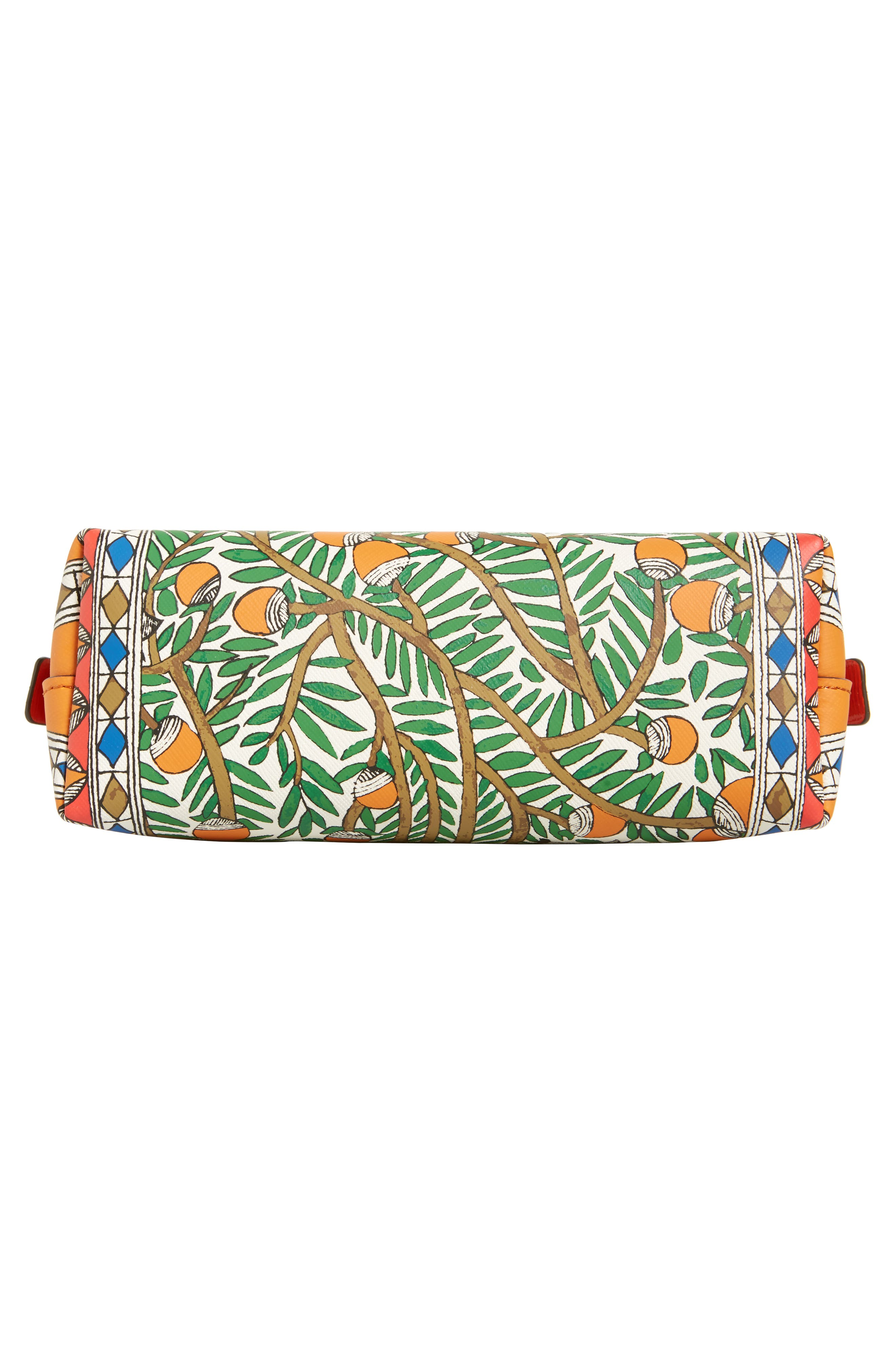 TORY BURCH,                             Small Robinson Cosmetic Case,                             Alternate thumbnail 5, color,                             SOMETHING WILD