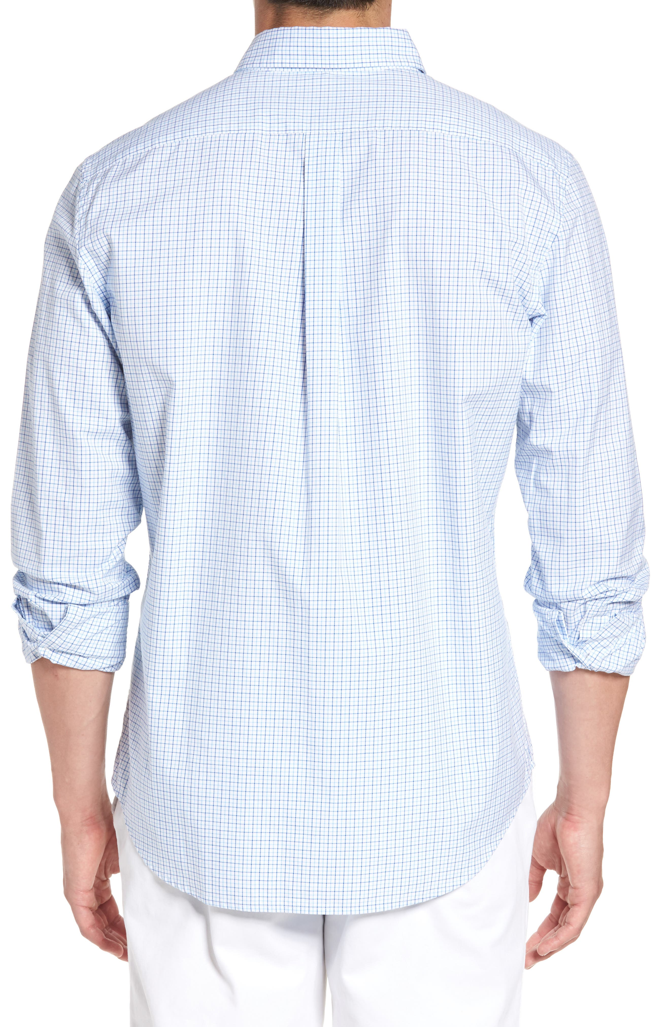 Twin Pond Classic Fit Tattersall Check Sport Shirt,                             Alternate thumbnail 2, color,                             484