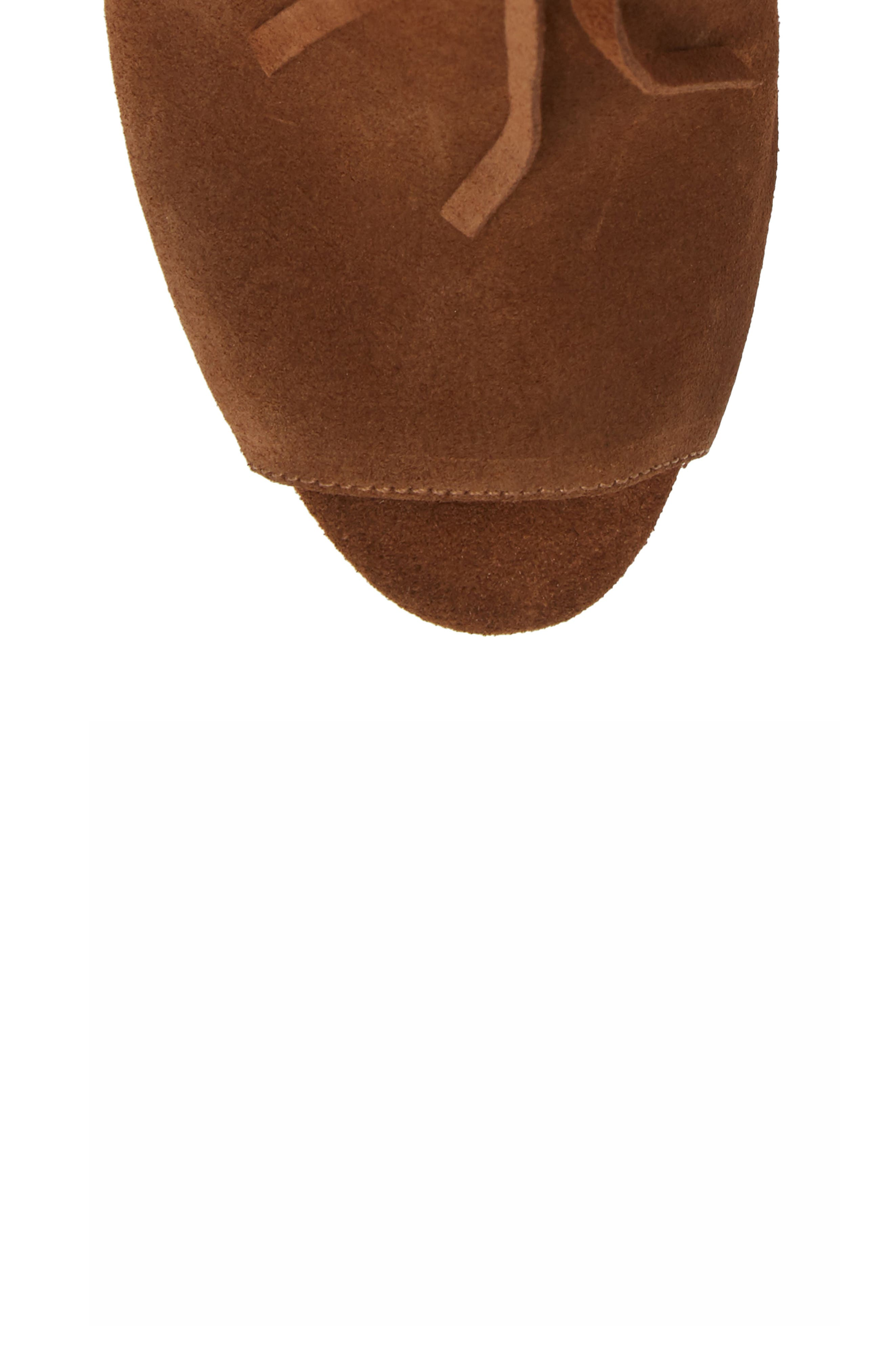 Kassidy Open Toe Bootie,                             Alternate thumbnail 10, color,