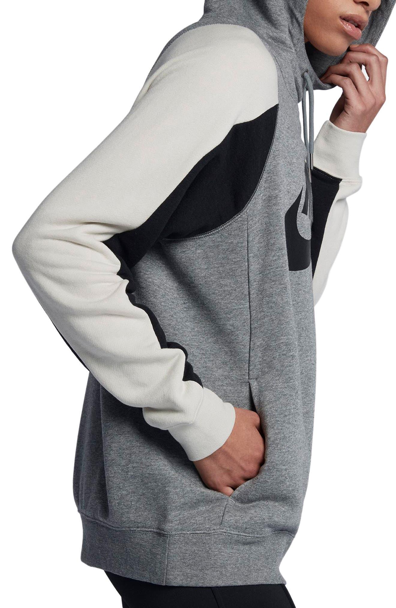 Women's Modern Pullover Hoodie,                             Alternate thumbnail 3, color,                             091