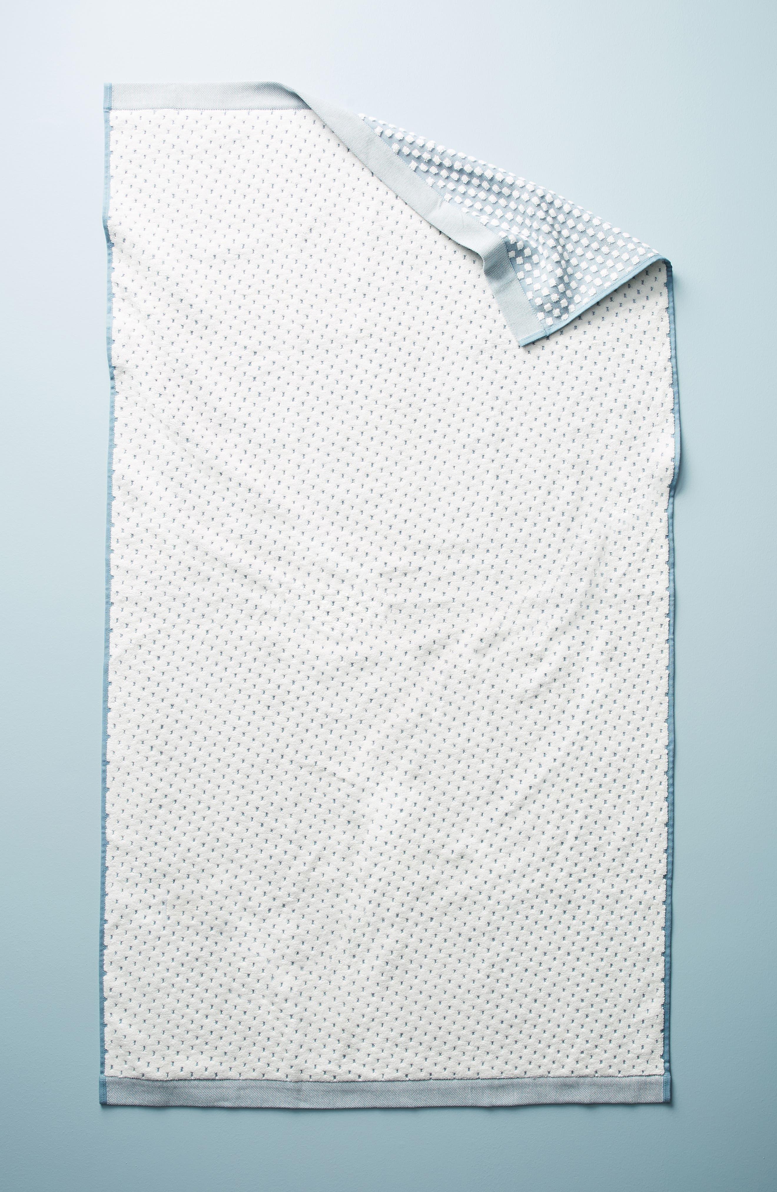 Dot Jacquard Hand Towel,                             Alternate thumbnail 11, color,
