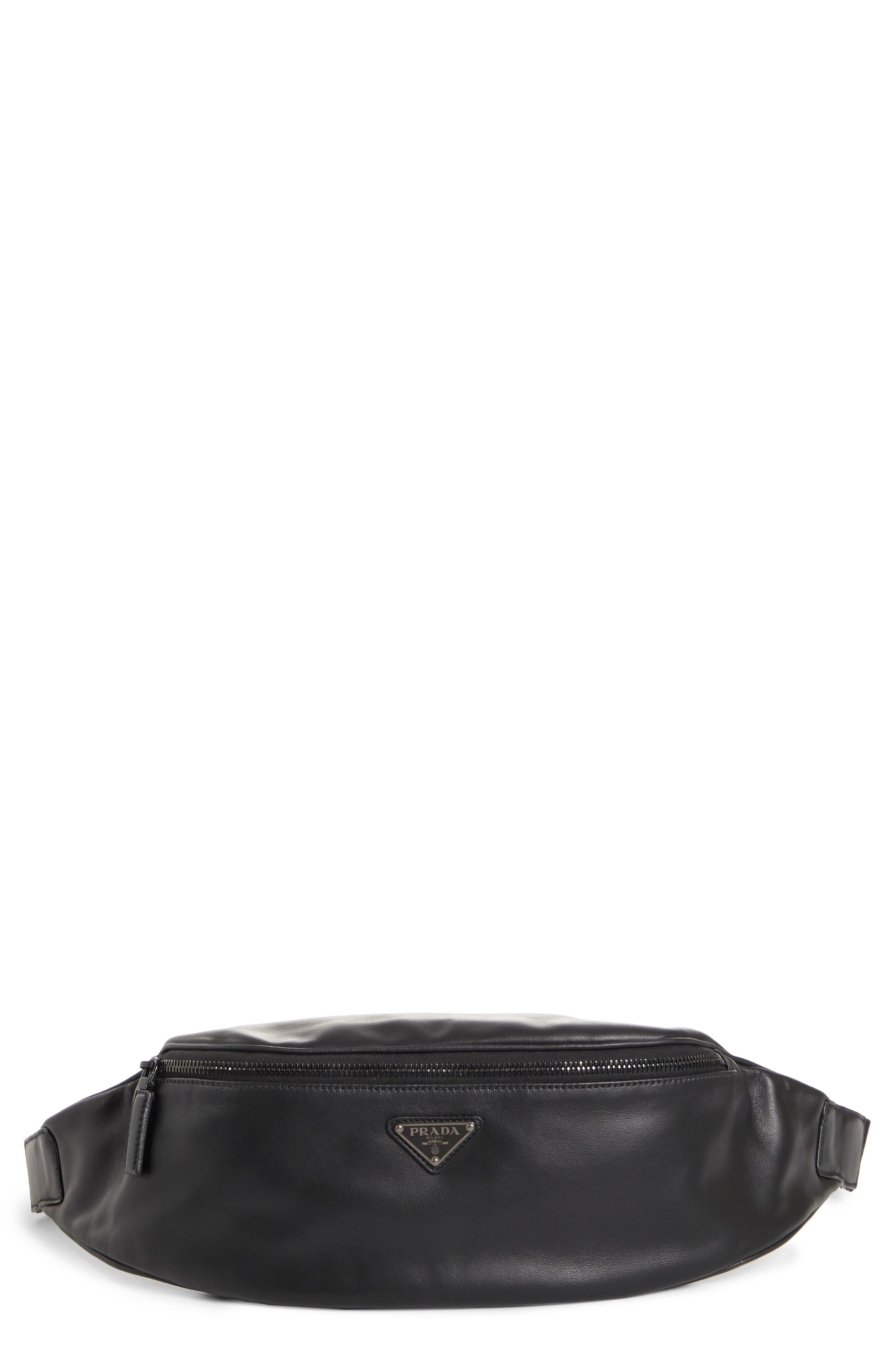 Grace Lux Waist Pack,                         Main,                         color, NERO
