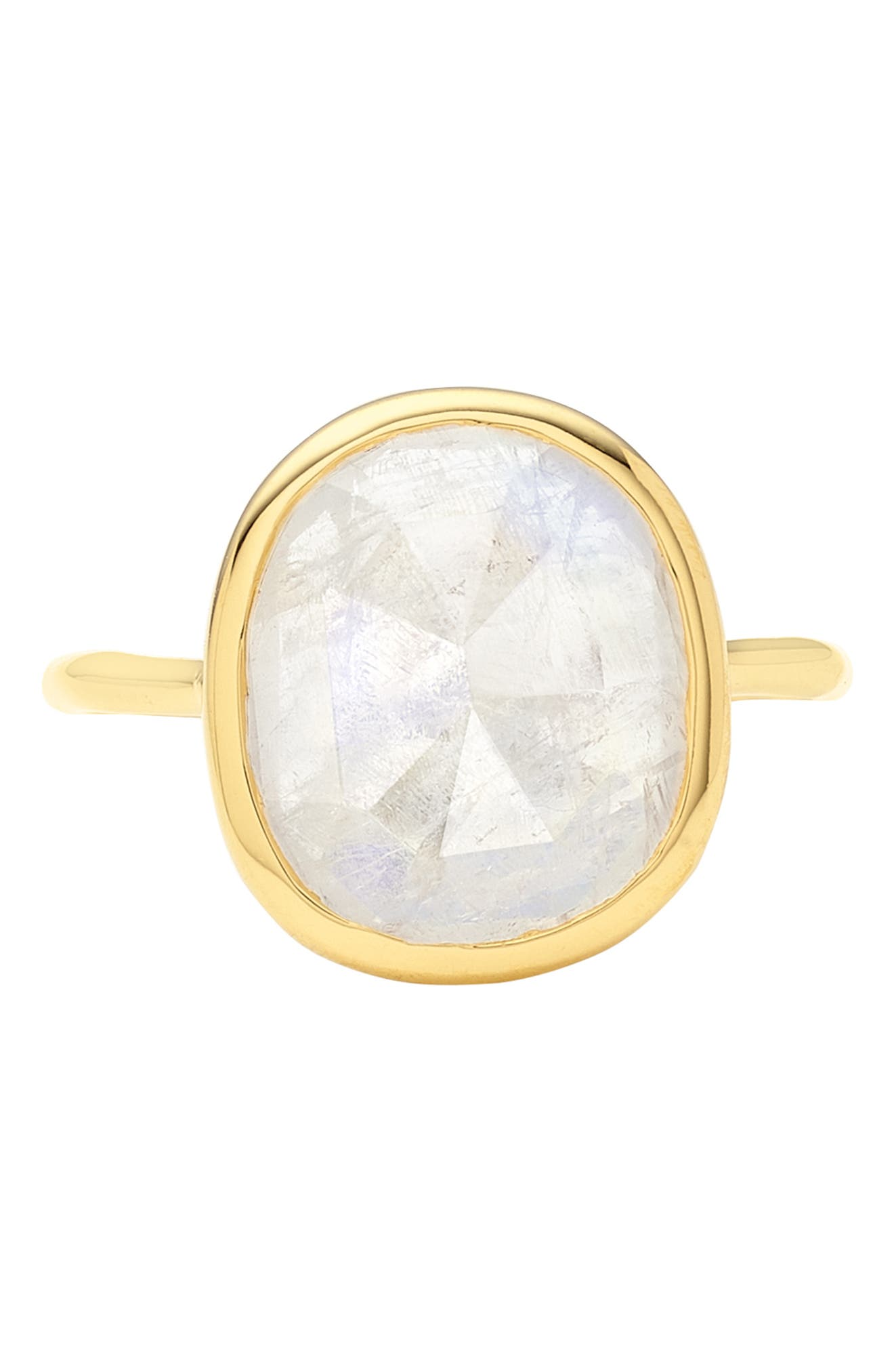Siren Semiprecious Stone Ring,                             Alternate thumbnail 4, color,                             GOLD/ MOONSTONE
