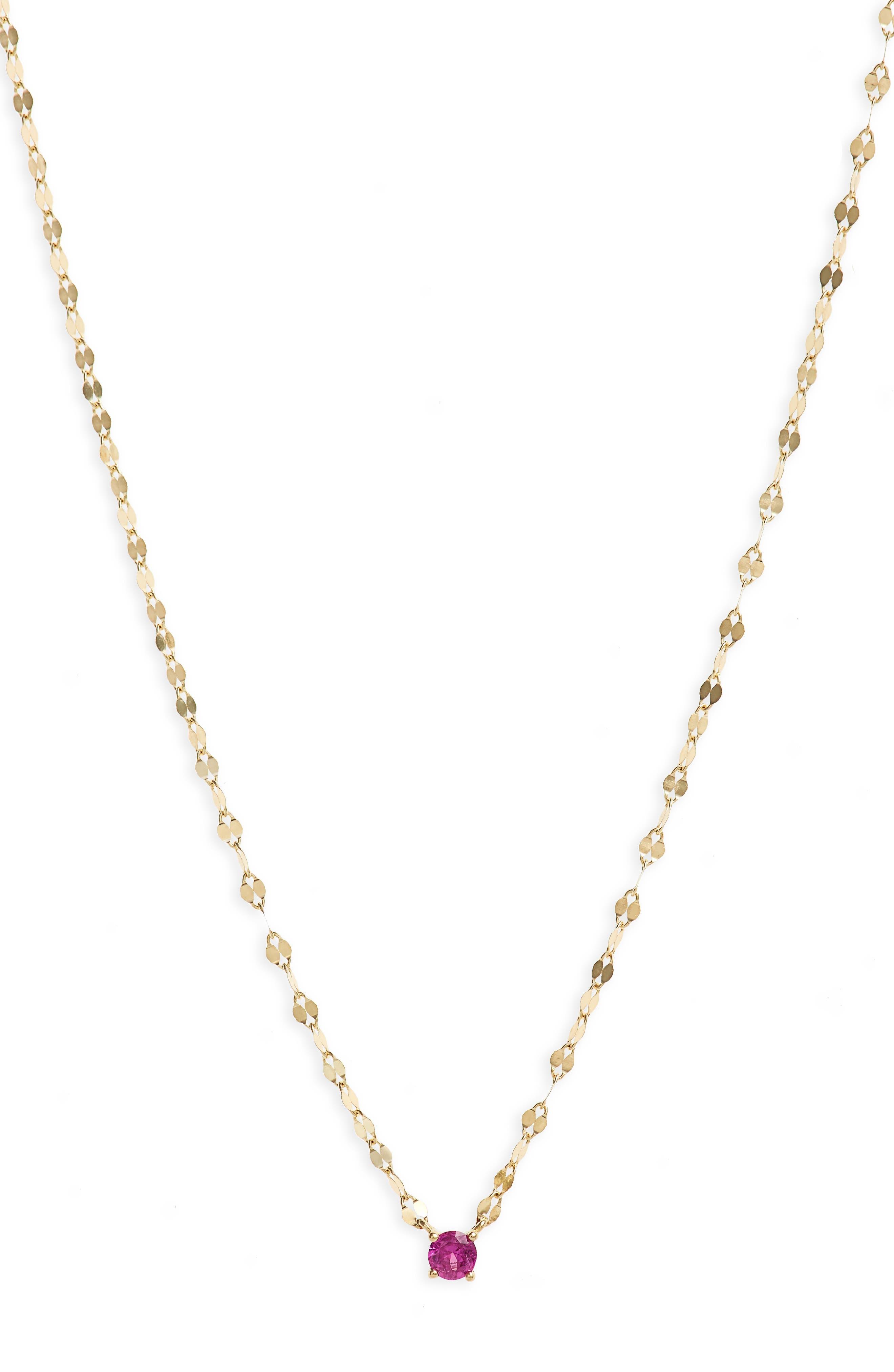 Sapphire Pendant Necklace,                         Main,                         color,