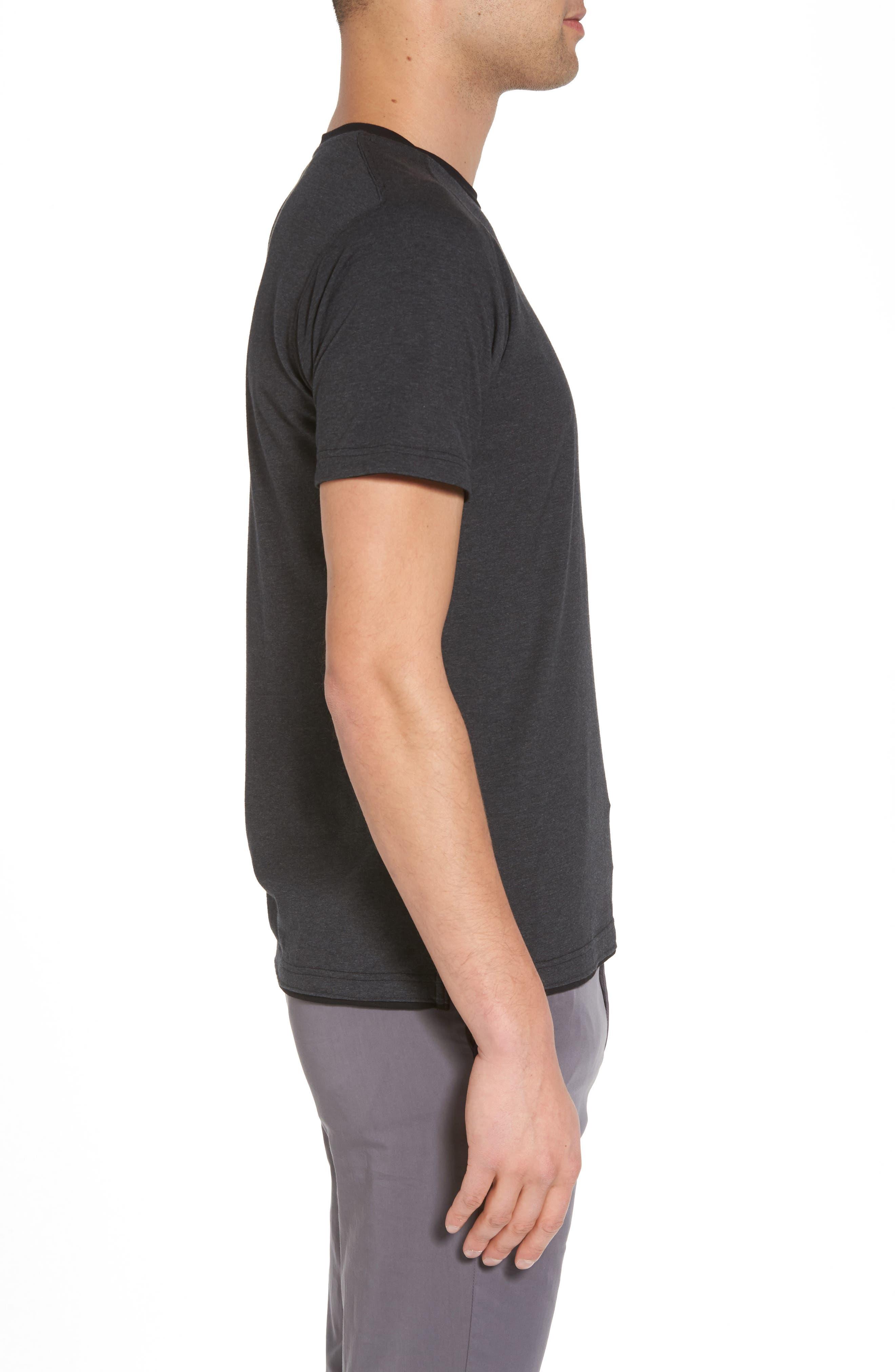 Cloud Soft T-Shirt,                             Alternate thumbnail 3, color,                             020