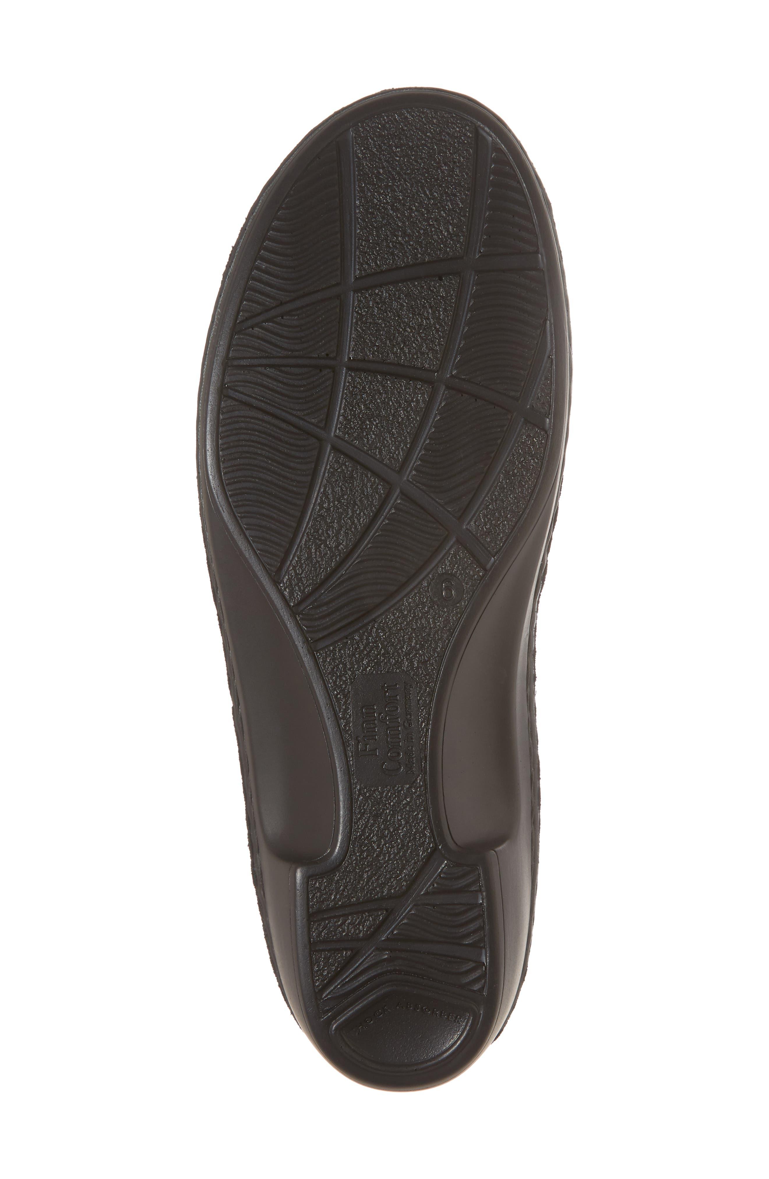 Buka Sandal,                             Alternate thumbnail 6, color,                             BLACK LEATHER