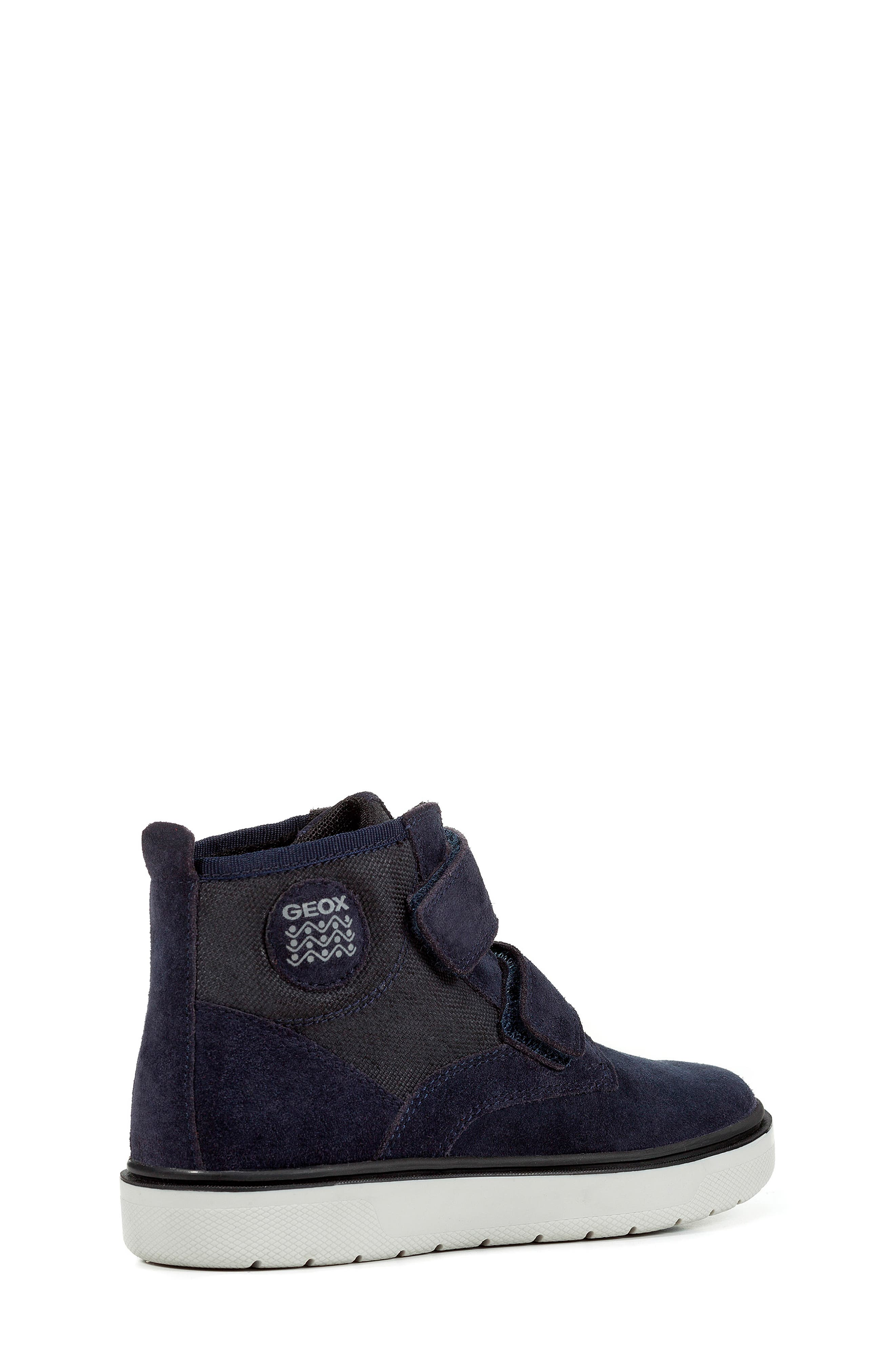 Riddock High Top Sneaker,                             Alternate thumbnail 3, color,                             NAVY/GREY