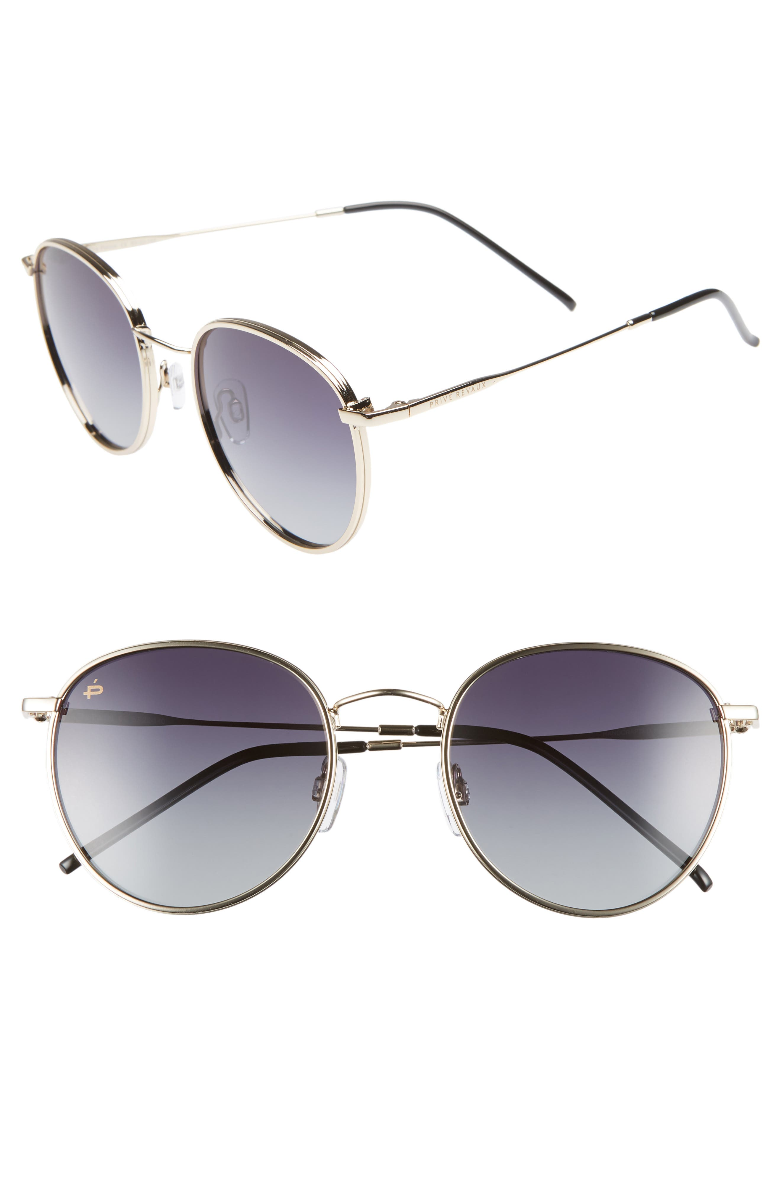 The Patriot 53mm Sunglasses,                         Main,                         color, 001