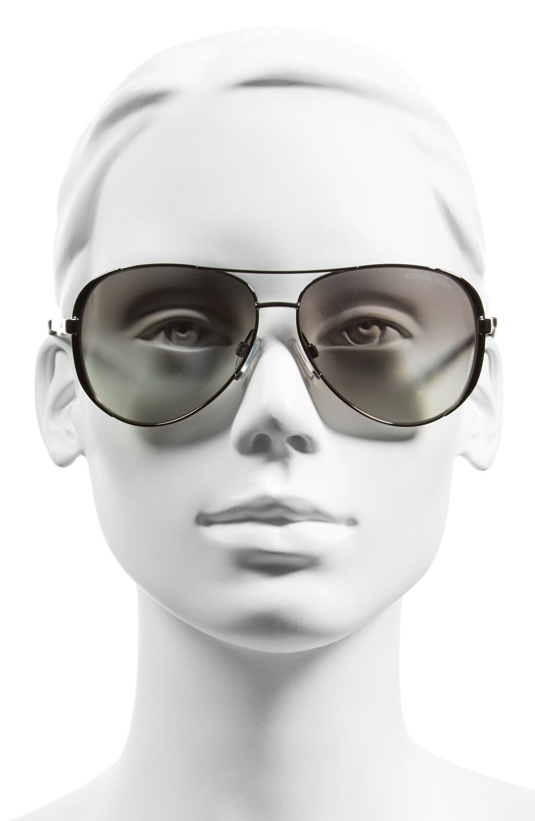 Collection 59mm Aviator Sunglasses,                             Alternate thumbnail 2, color,                             020