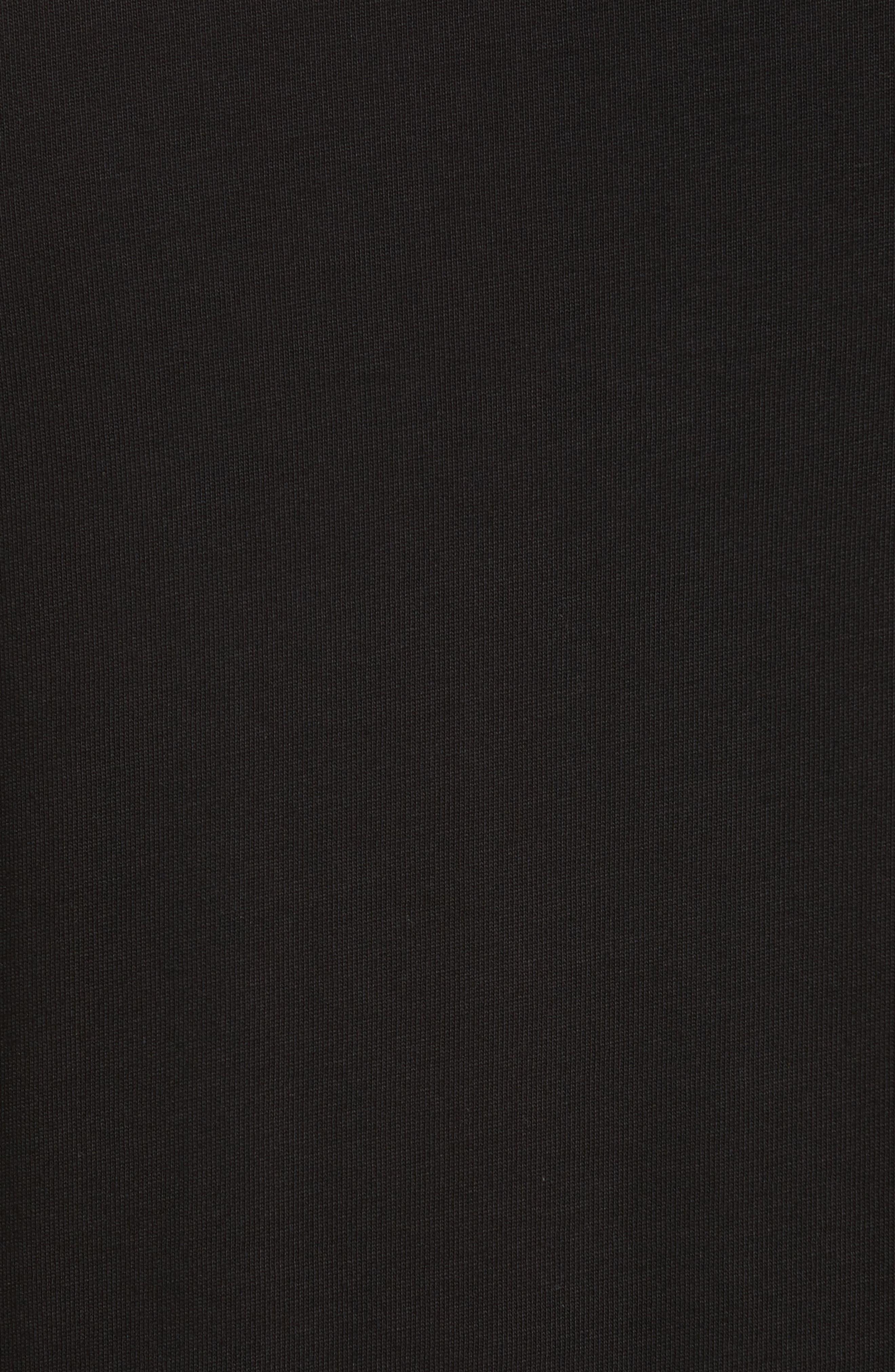 Necklace Crewneck T-Shirt,                             Alternate thumbnail 5, color,                             001
