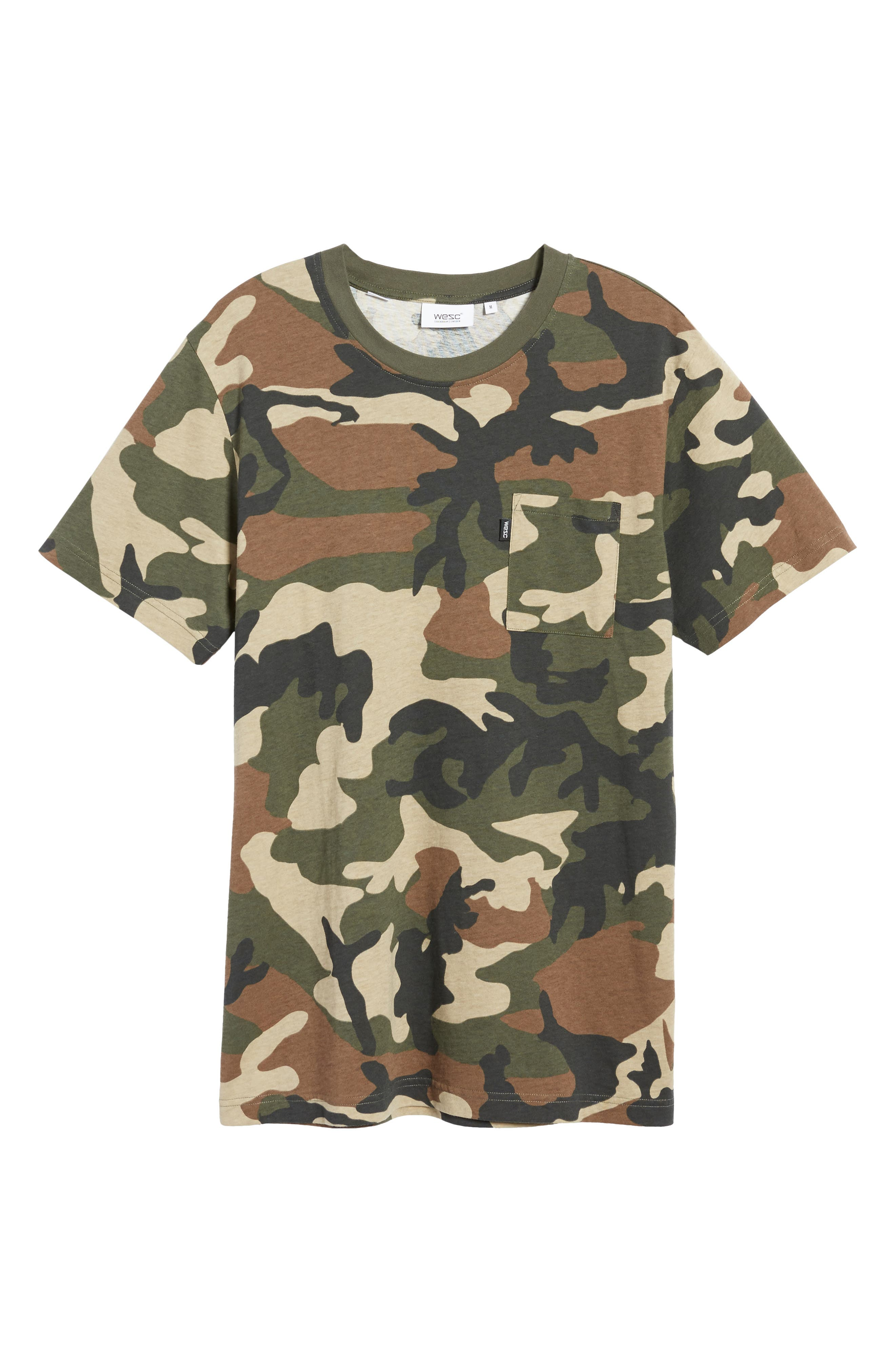 Maxwell Camo T-Shirt,                             Alternate thumbnail 6, color,                             307