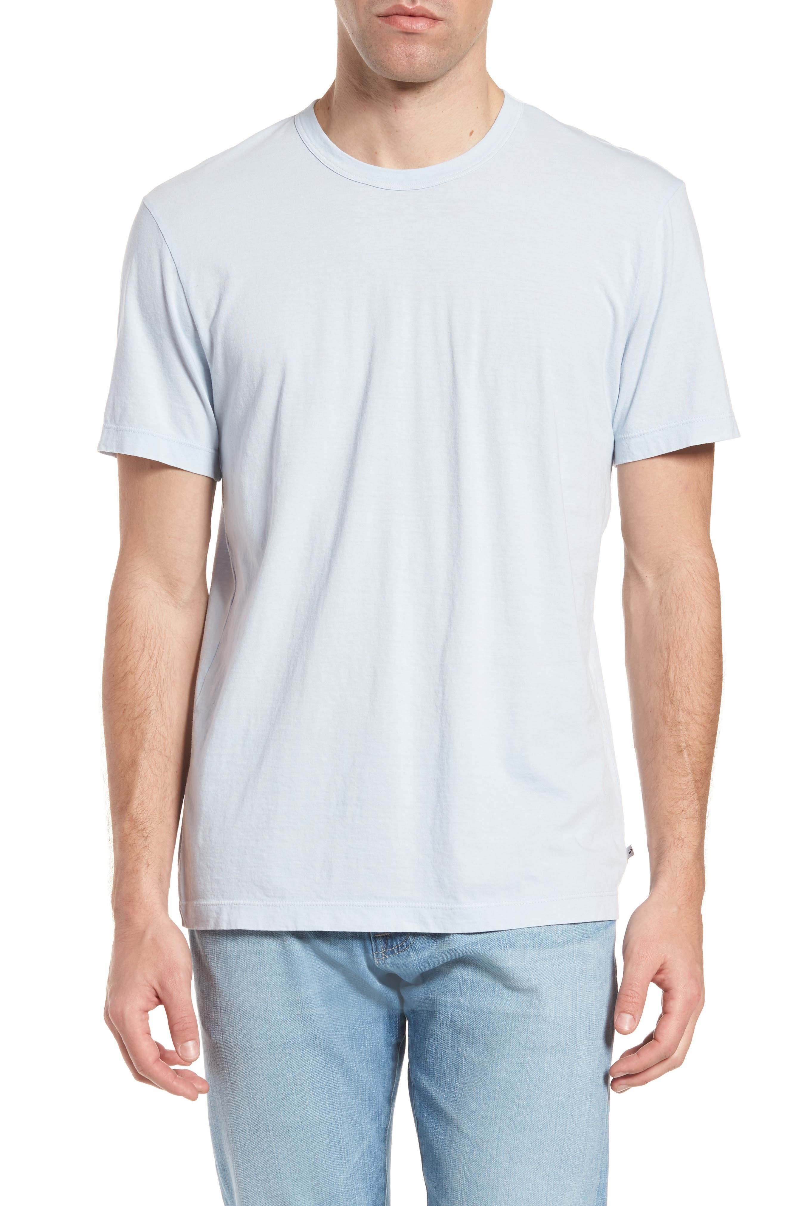 Crewneck Jersey T-Shirt,                             Alternate thumbnail 131, color,