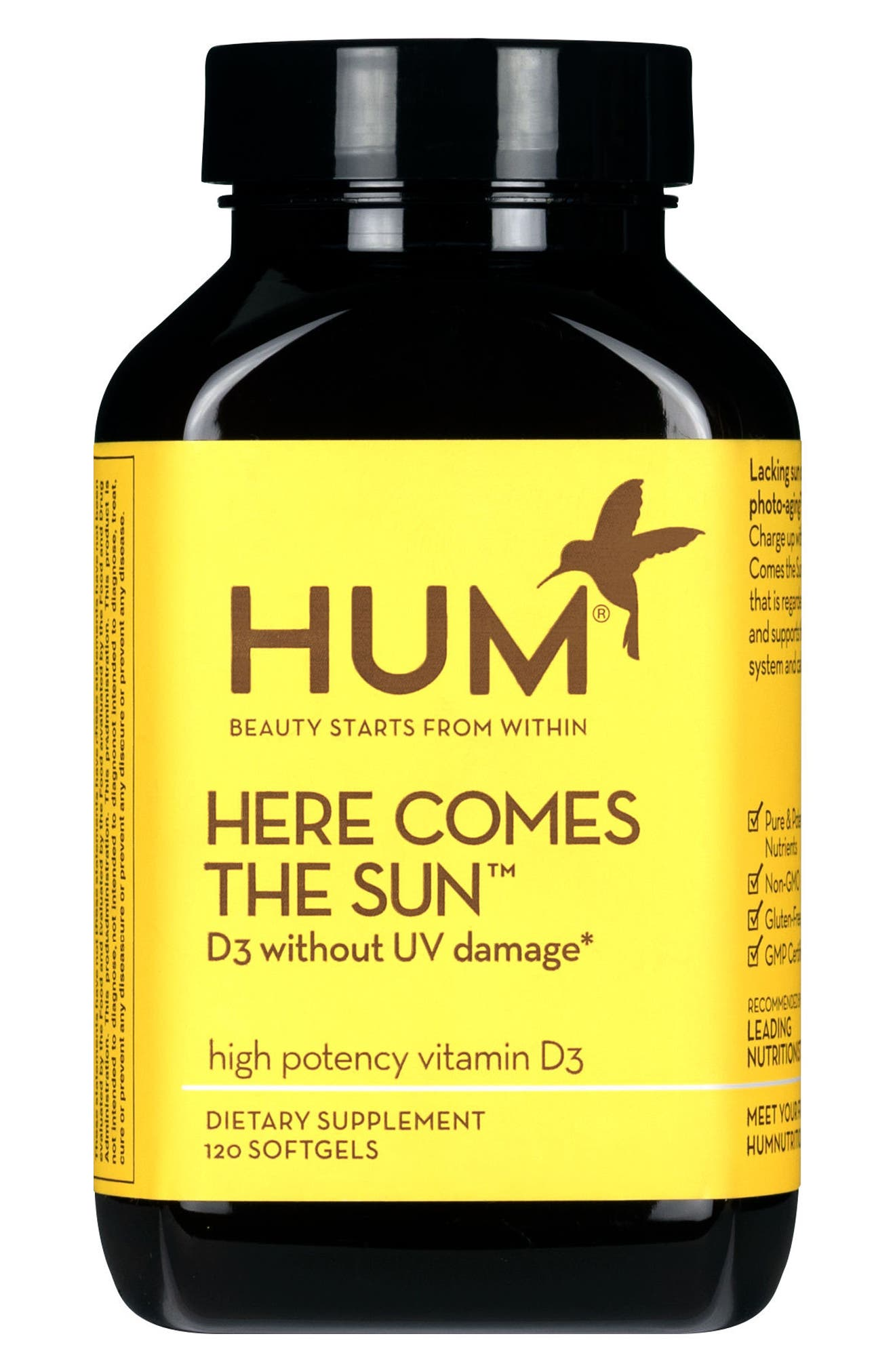 Here Comes the Sun Vitamin D Supplement,                             Main thumbnail 1, color,                             NO COLOR