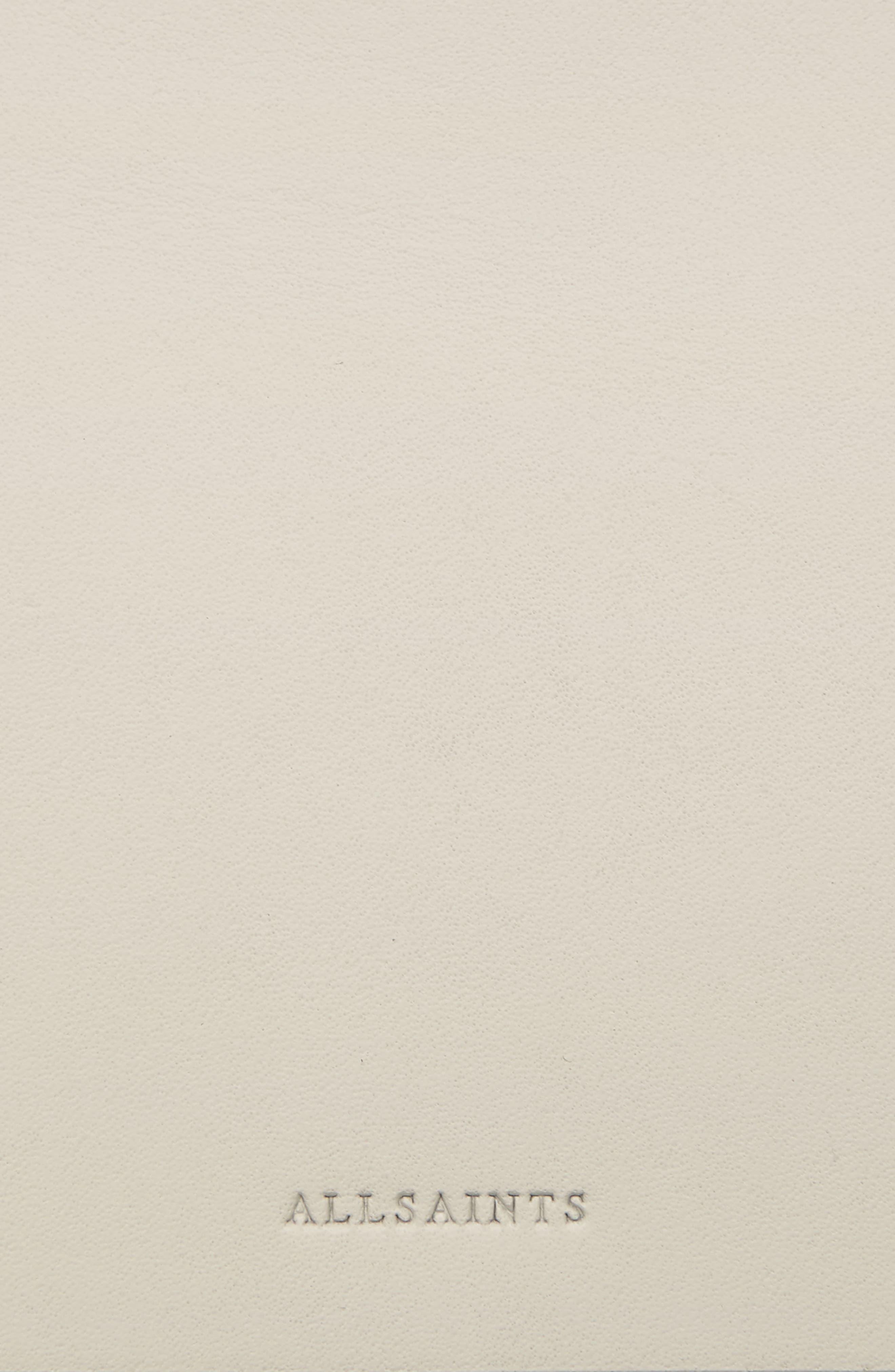 Zep Colorblock Leather Shoulder Bag,                             Alternate thumbnail 4, color,                             115